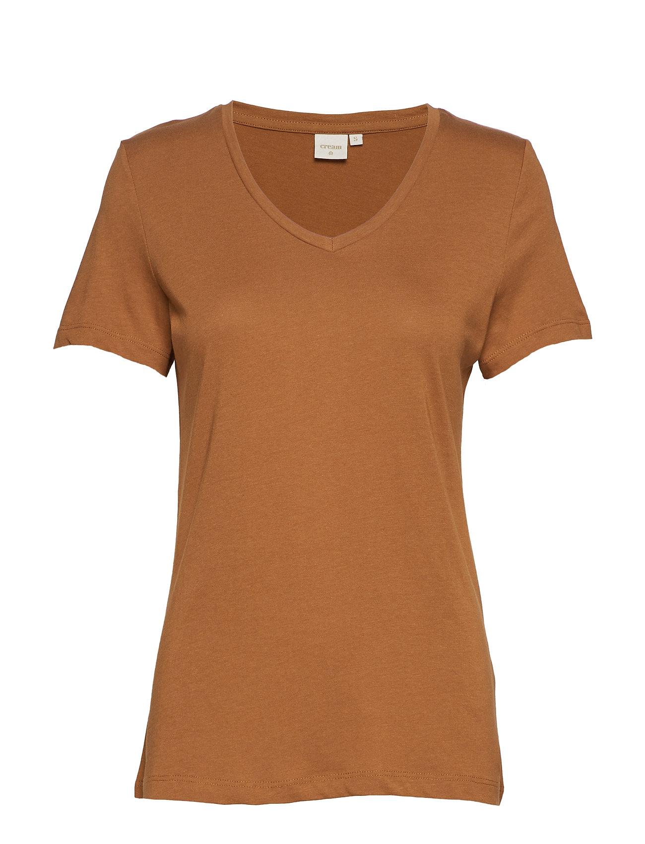 Cream Naia T-shirt BCI - BRONZED