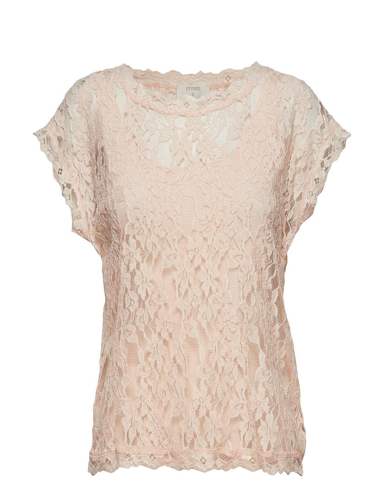 Cream Vivi Lace Blouse - SUNSHINE ROSE