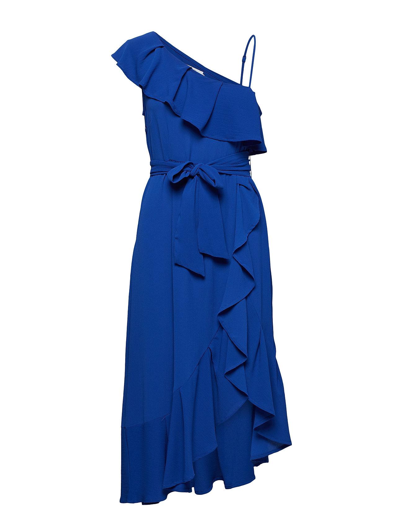 Cream Cabrilla Dress - LIMOGES BLUE
