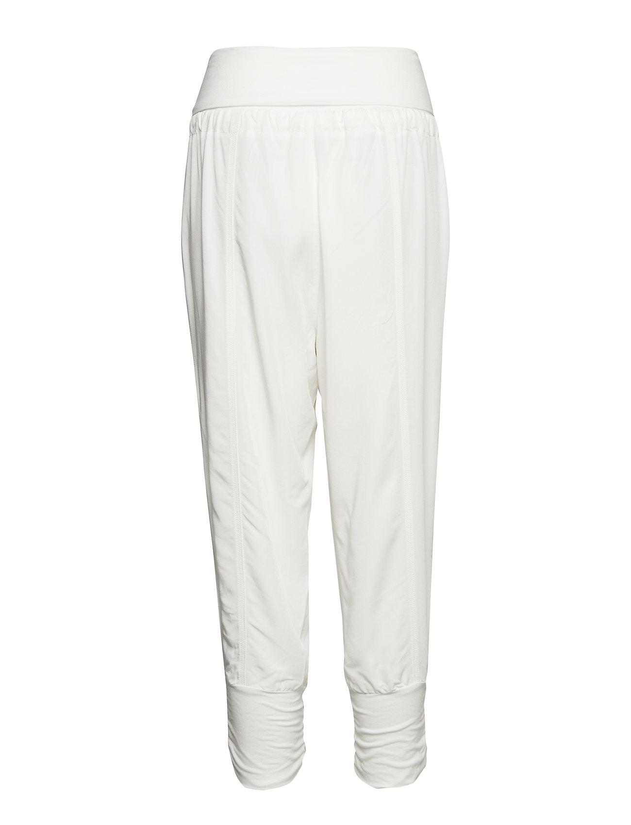 Line Pants Casual Bukser Hvid CREAM