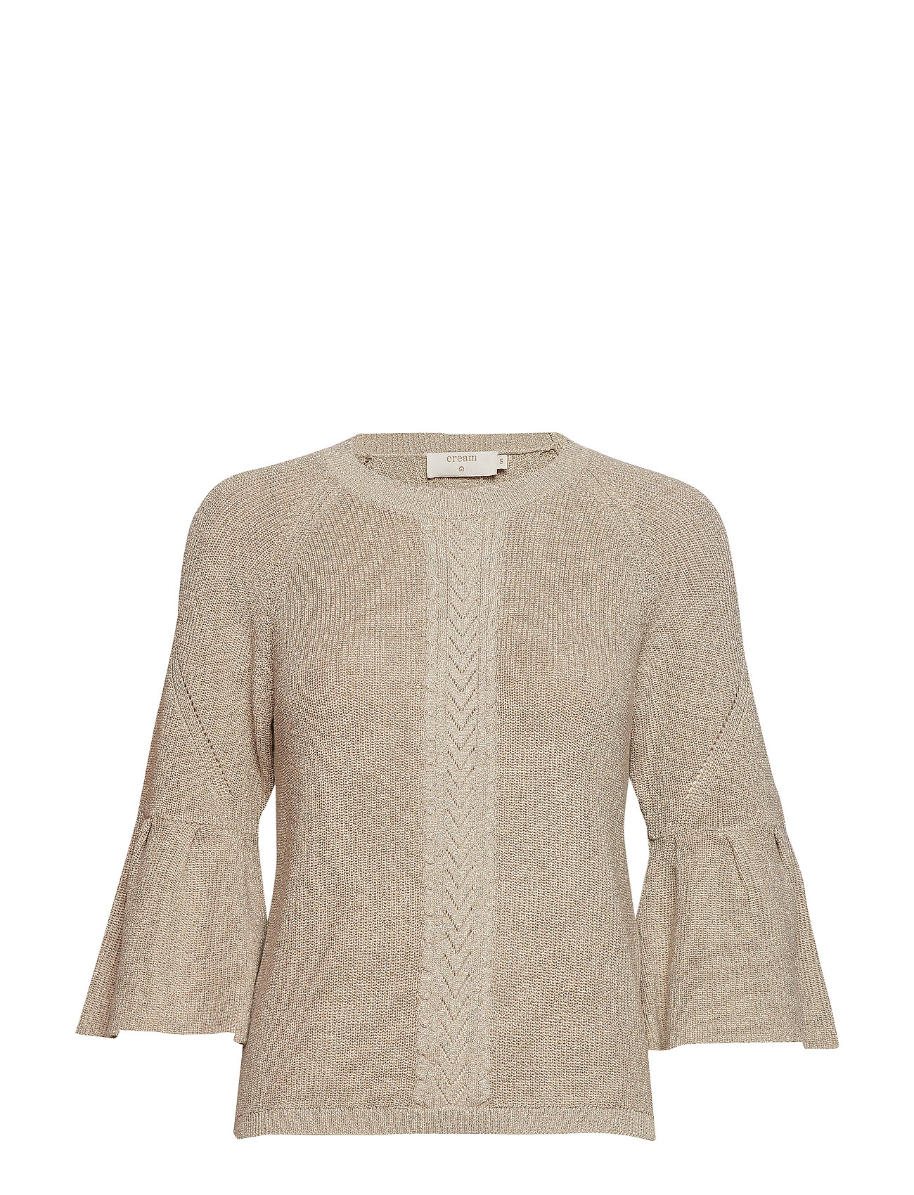 Cream Felice Knit pullover - WARM SAND