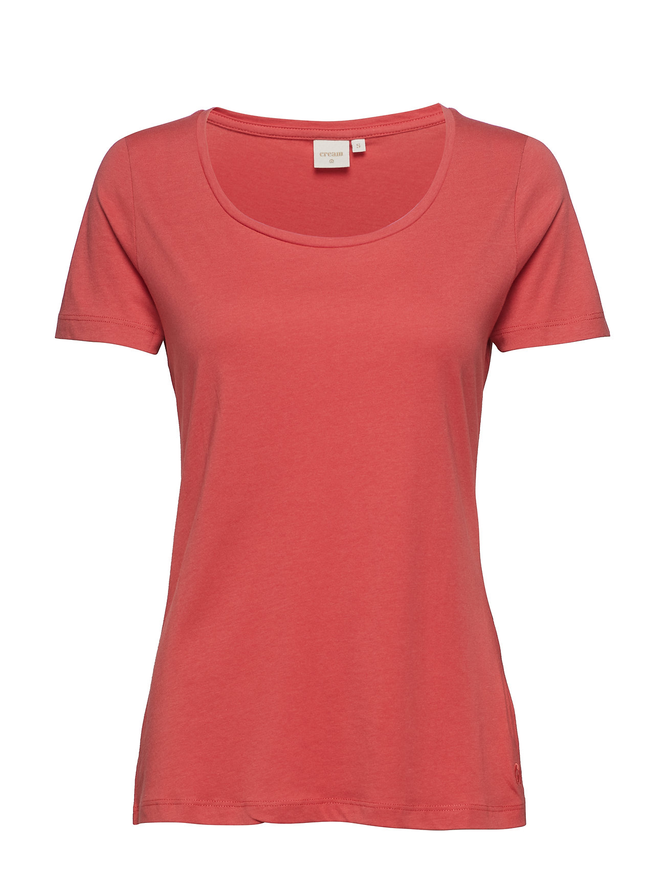 Naia O Neck T Shirt T shirt Top CREAM