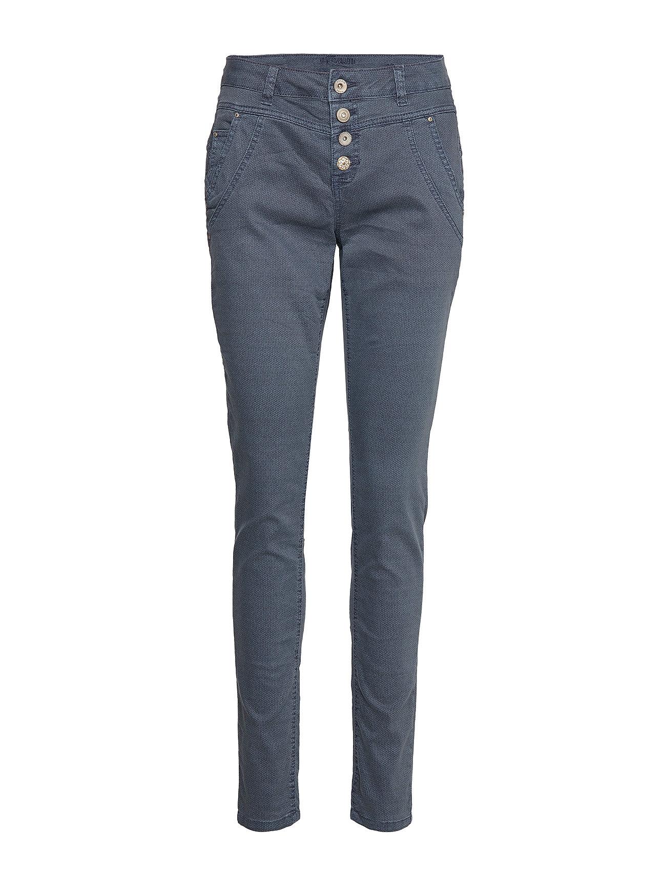 Cream Vivi Pants Baiily fit - WARM BLUE