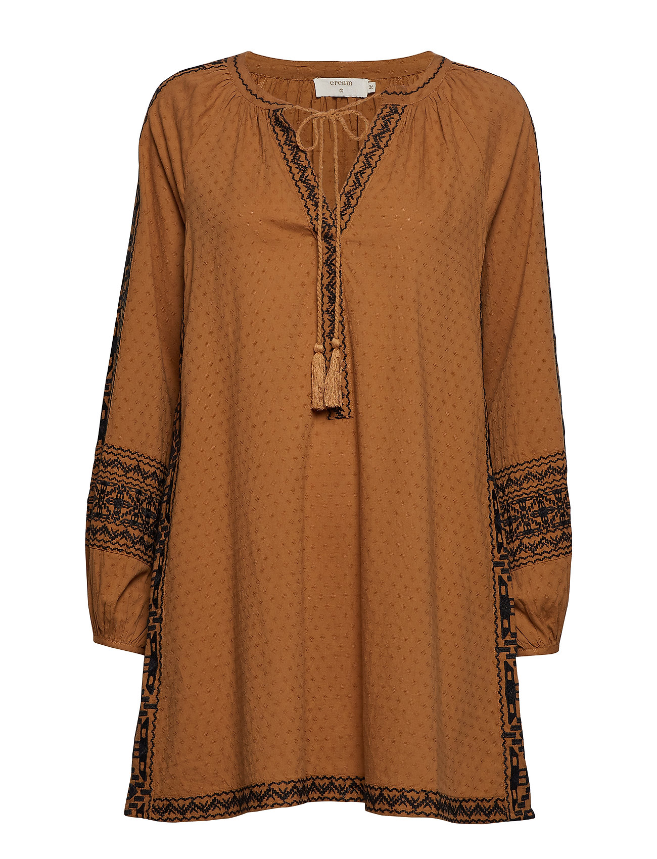 Cream Lilly tunic - BRONZED