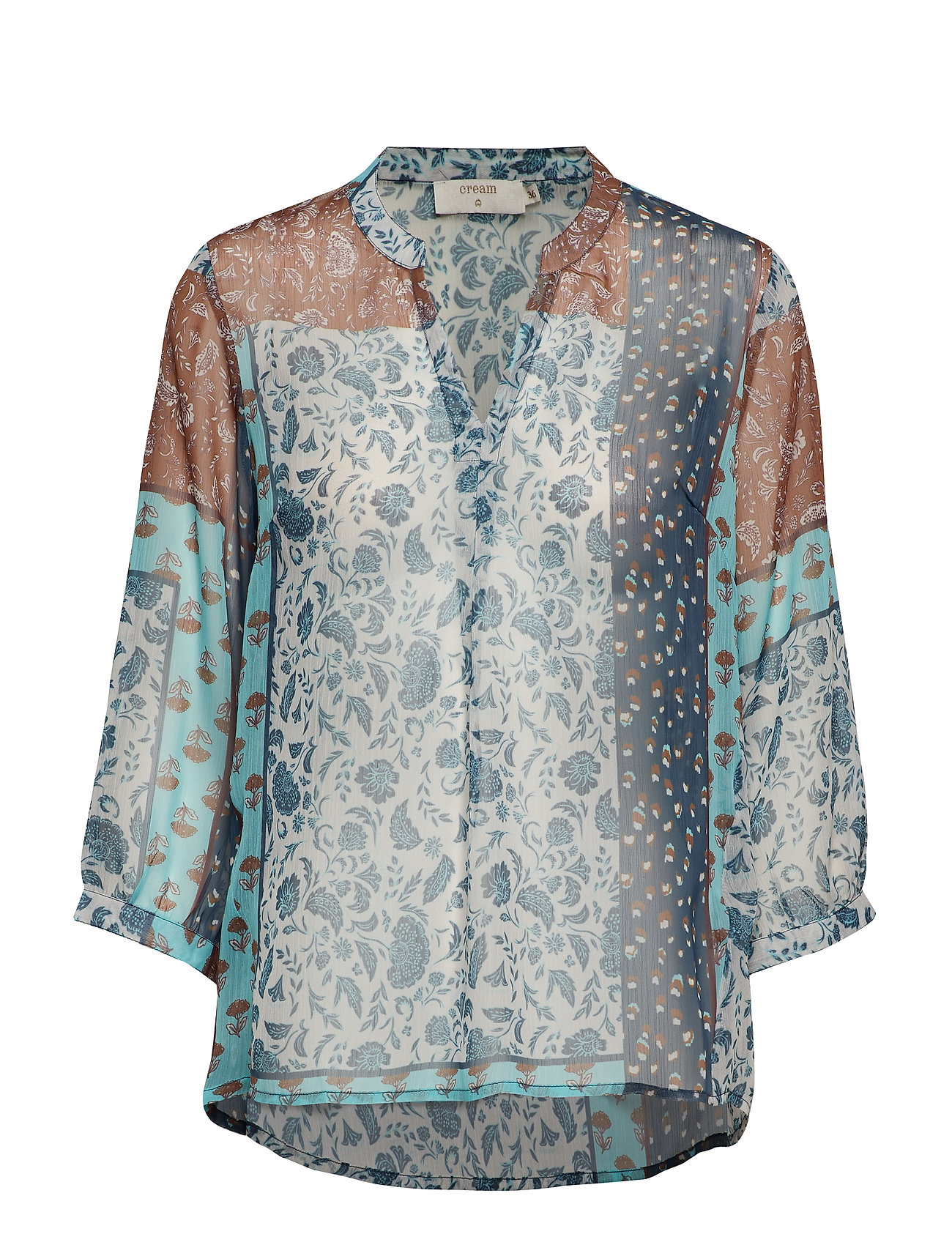 Cream Sama Shirt l/s - DARK DENIM