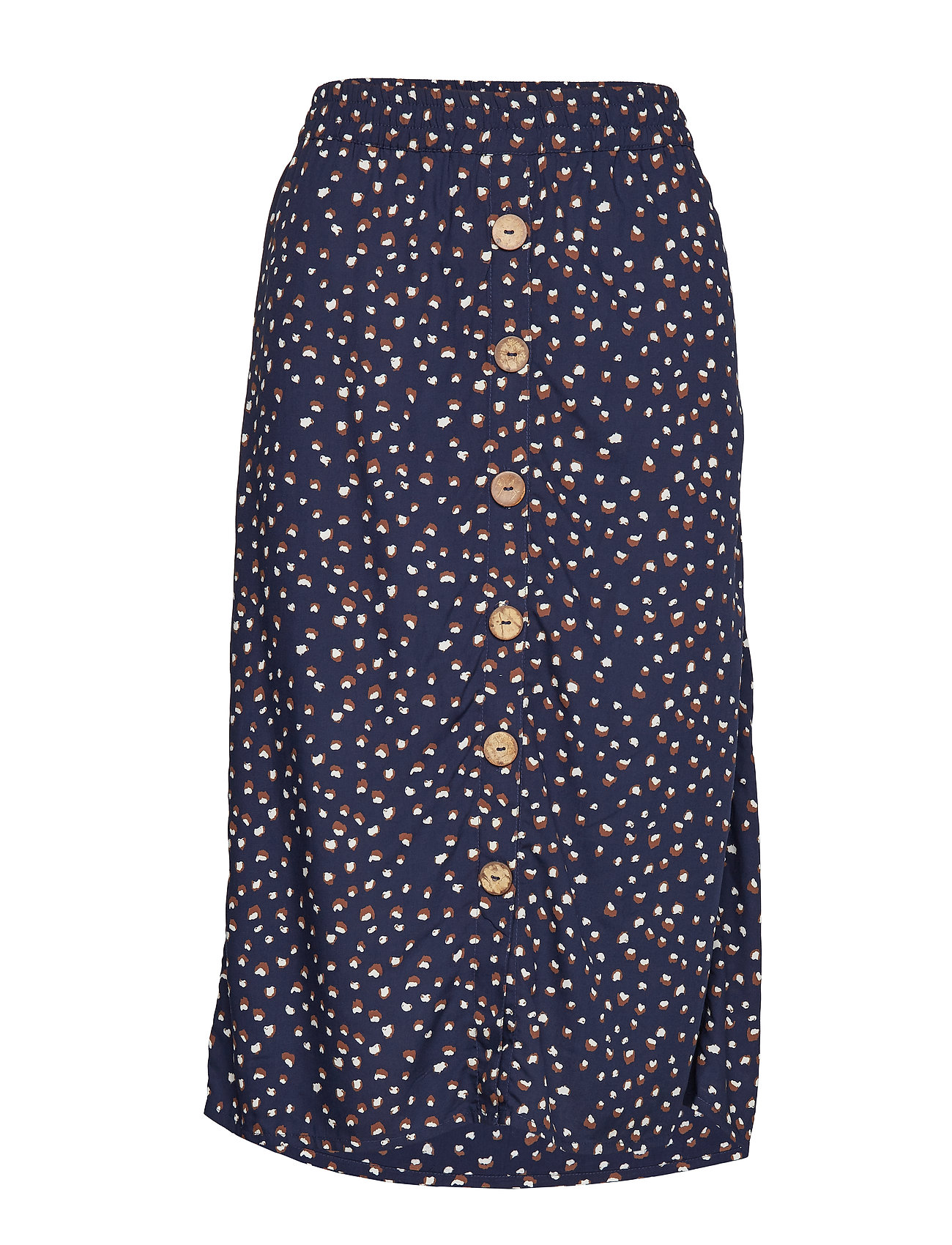 Cream Gemina Skirt - MARITIME BLUE