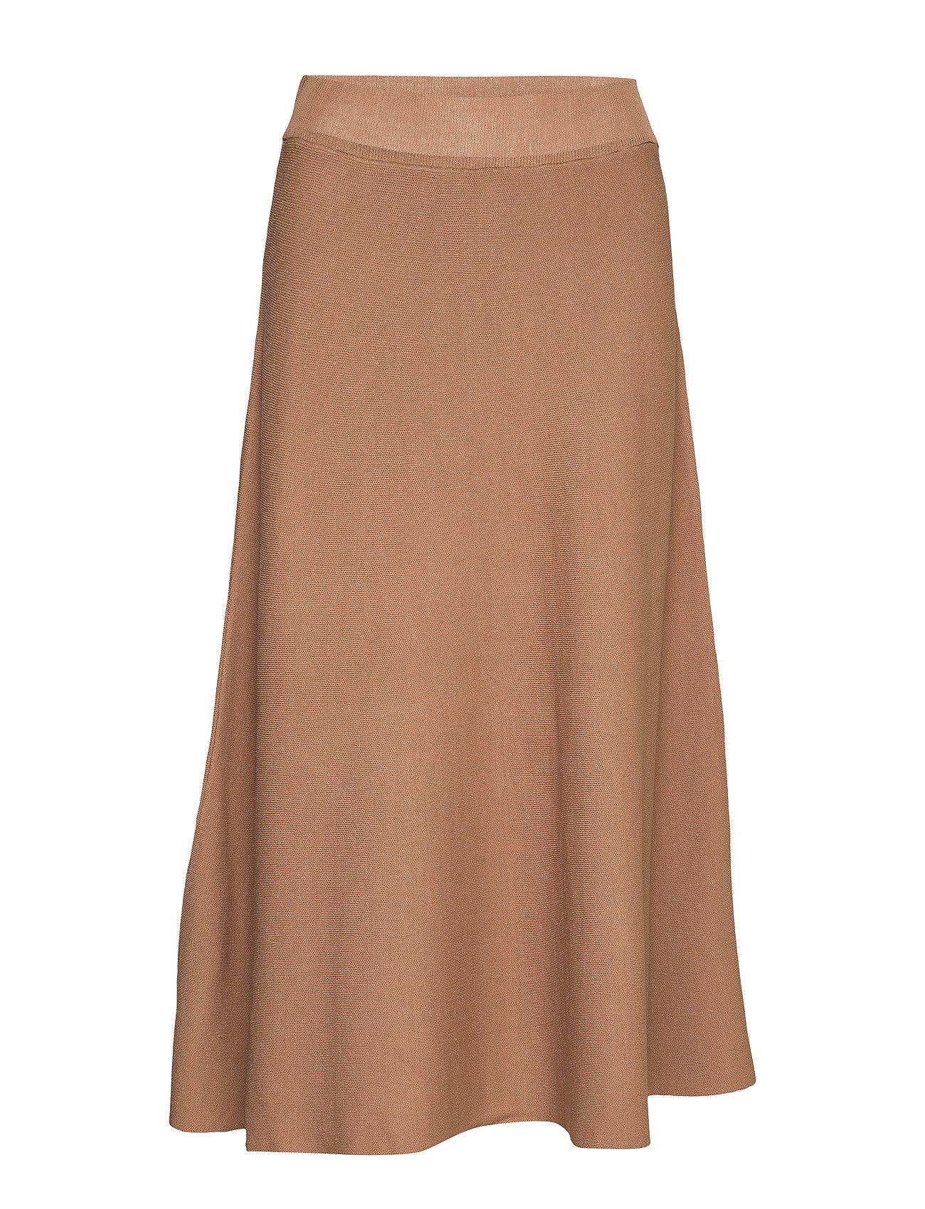 Cream Celina Skirt - BROWN SUGAR