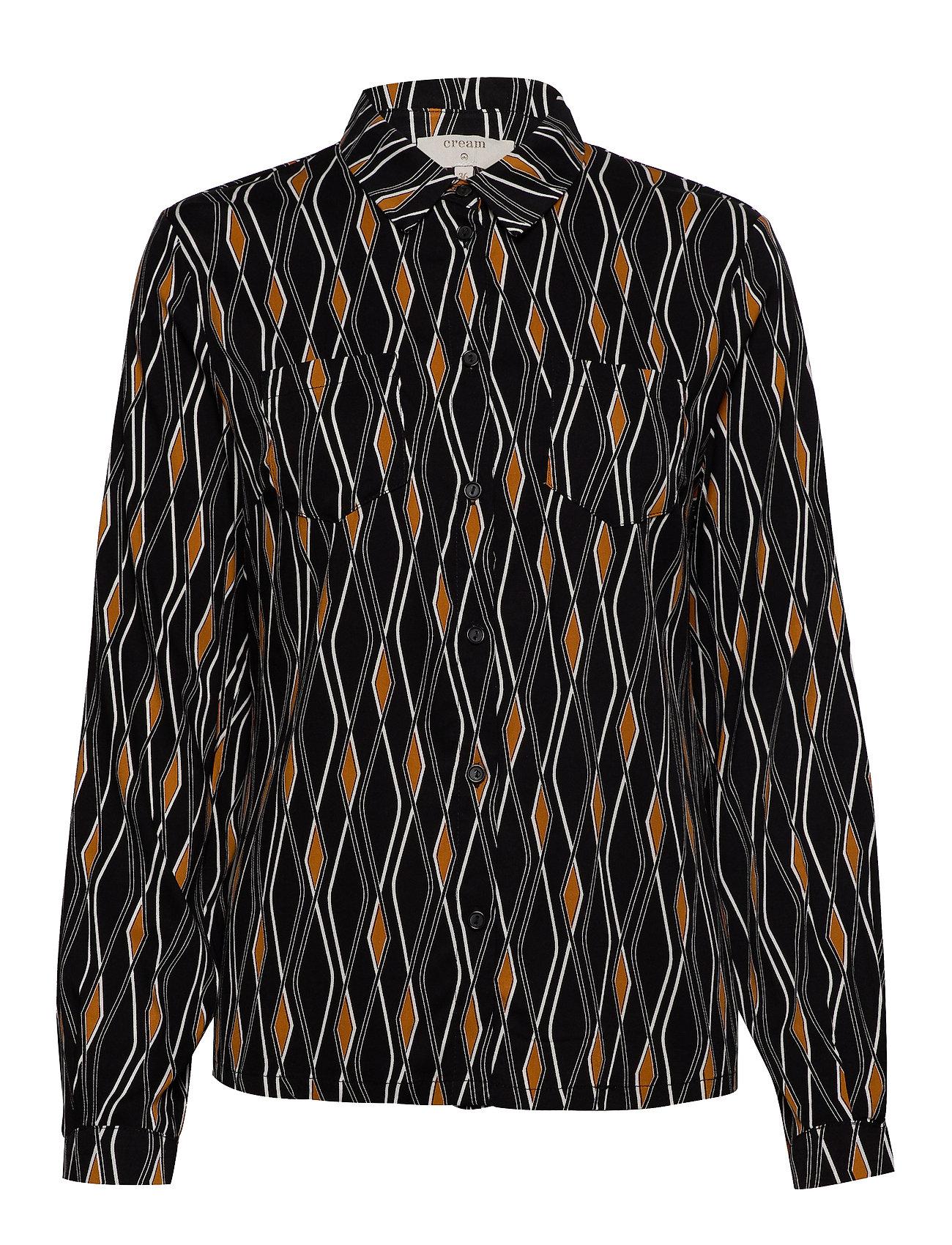 Cream Karoline LS Shirt - PITCH BLACK