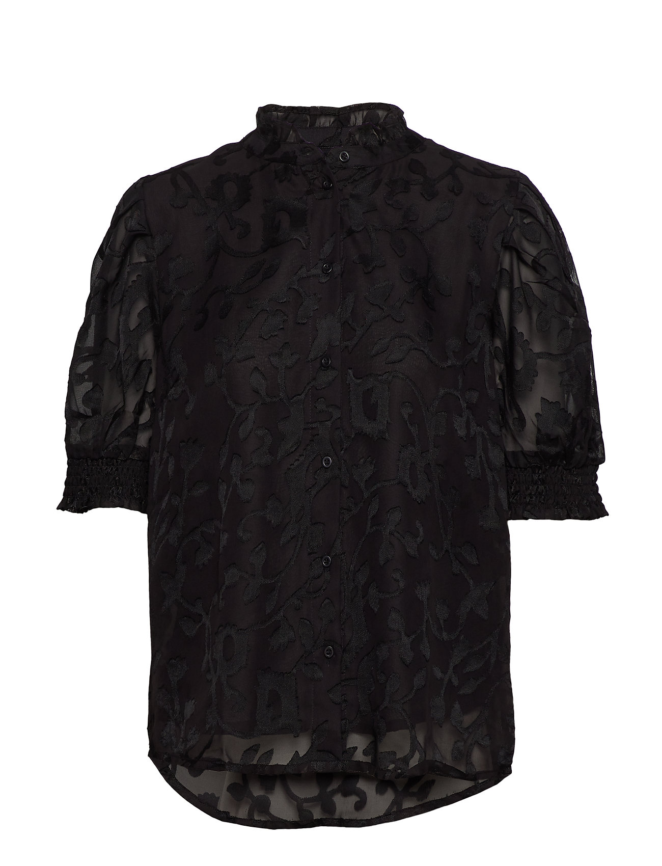 Cream Godwina Shirt - BLACK DEEP