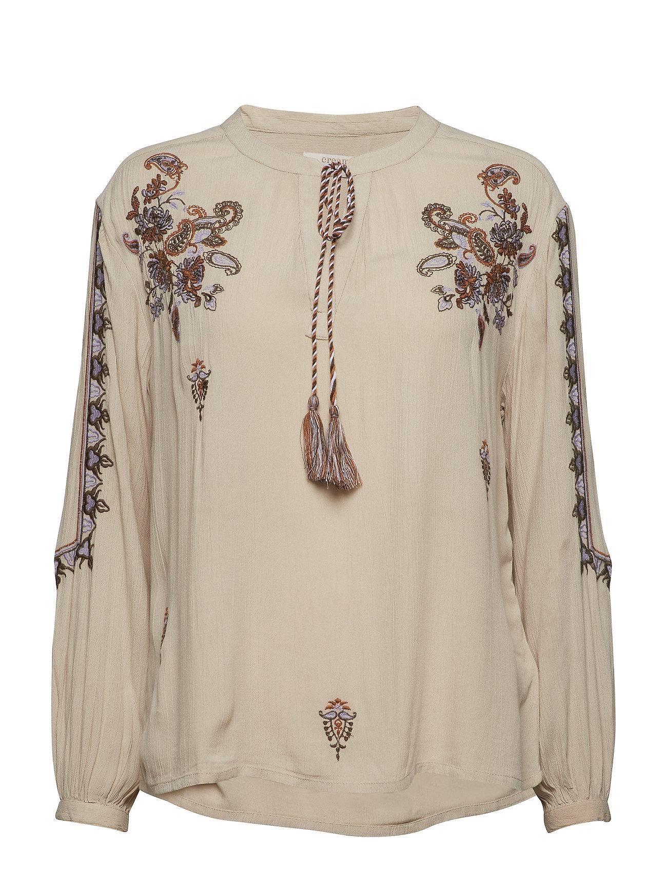 Cream Fenja blouse - LIGHT BEIGE