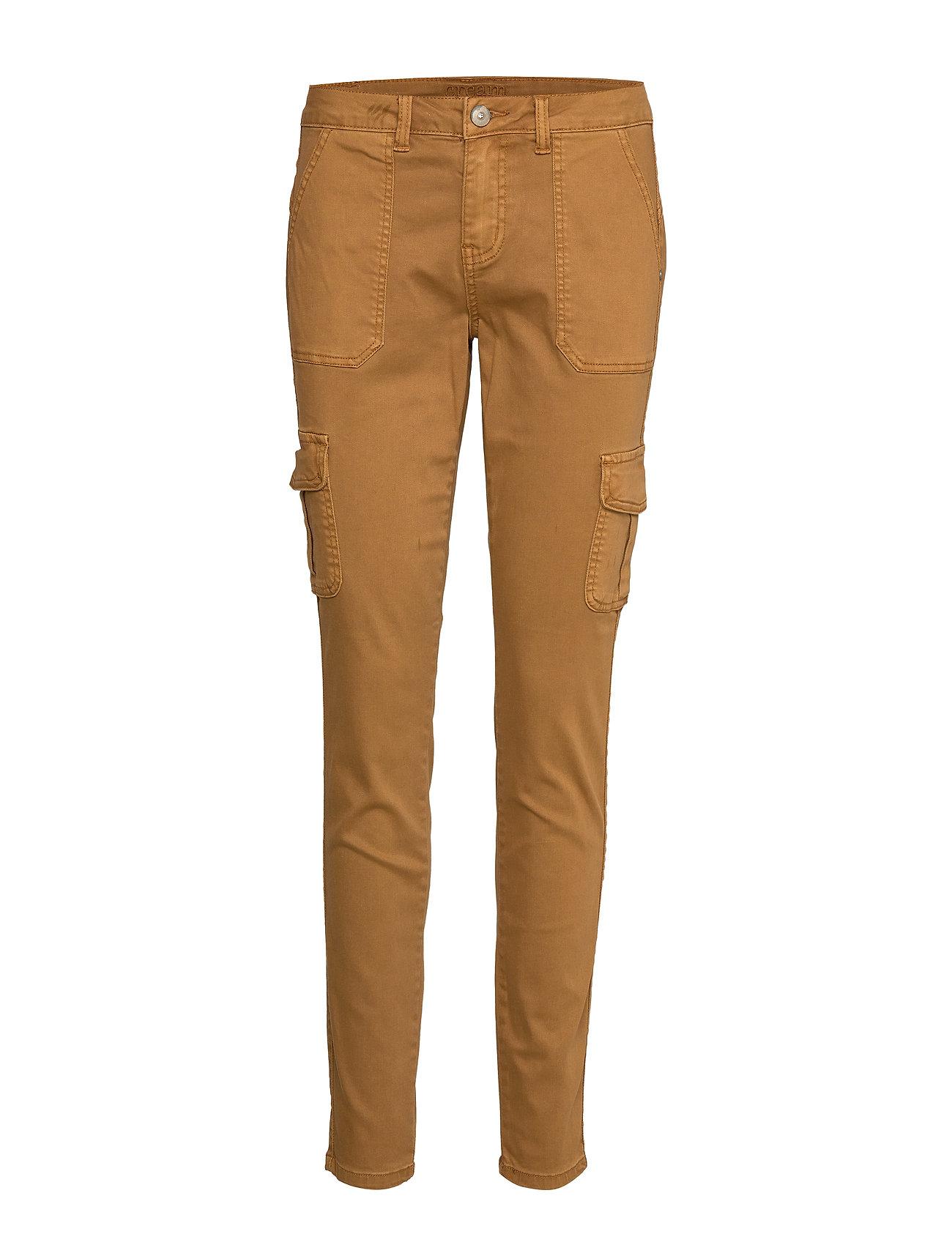 Cream Annie Cargo Pants - Baiily - BRONZED