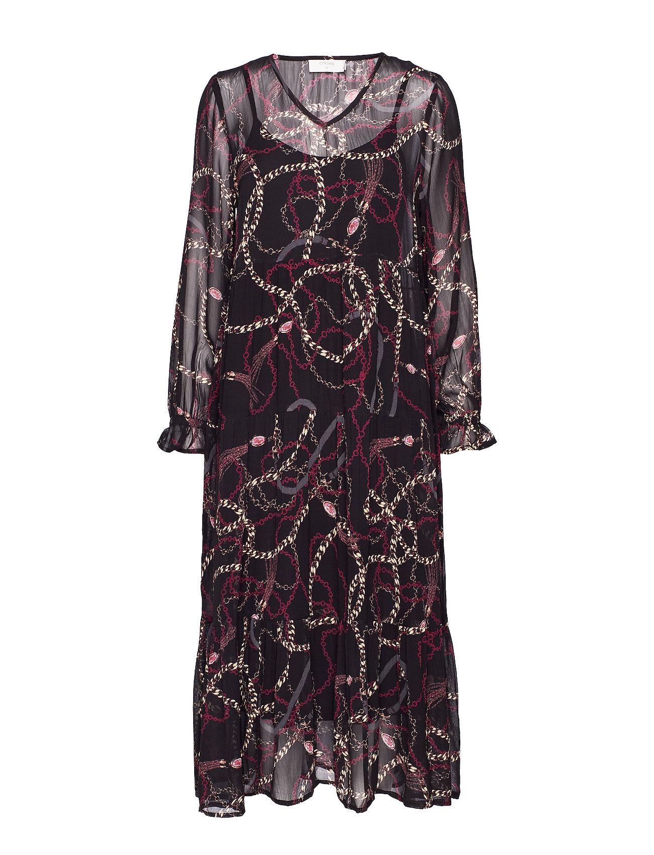 Cream CindyCR Dress - PITCH BLACK