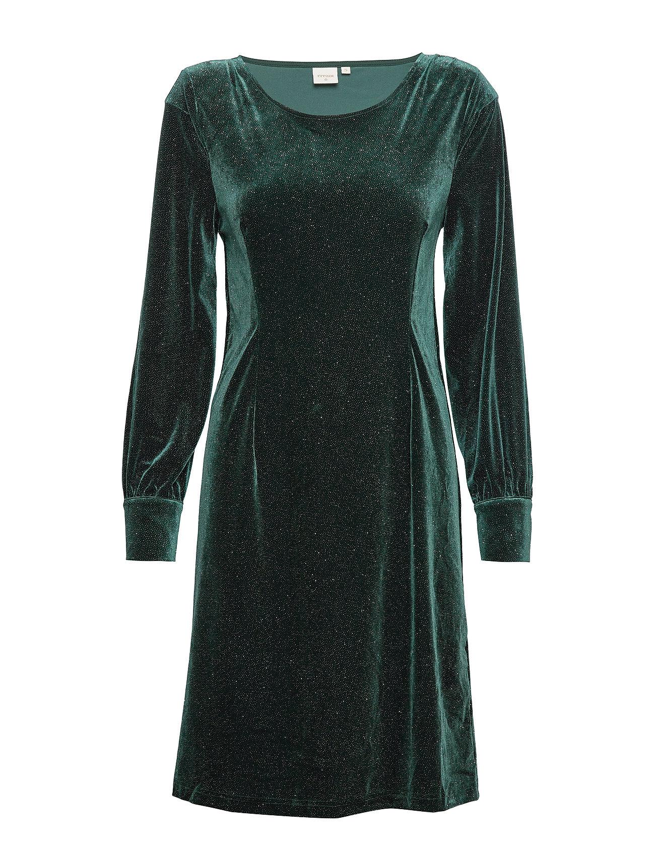 Cream OliveCR Dress - DEEP GREEN