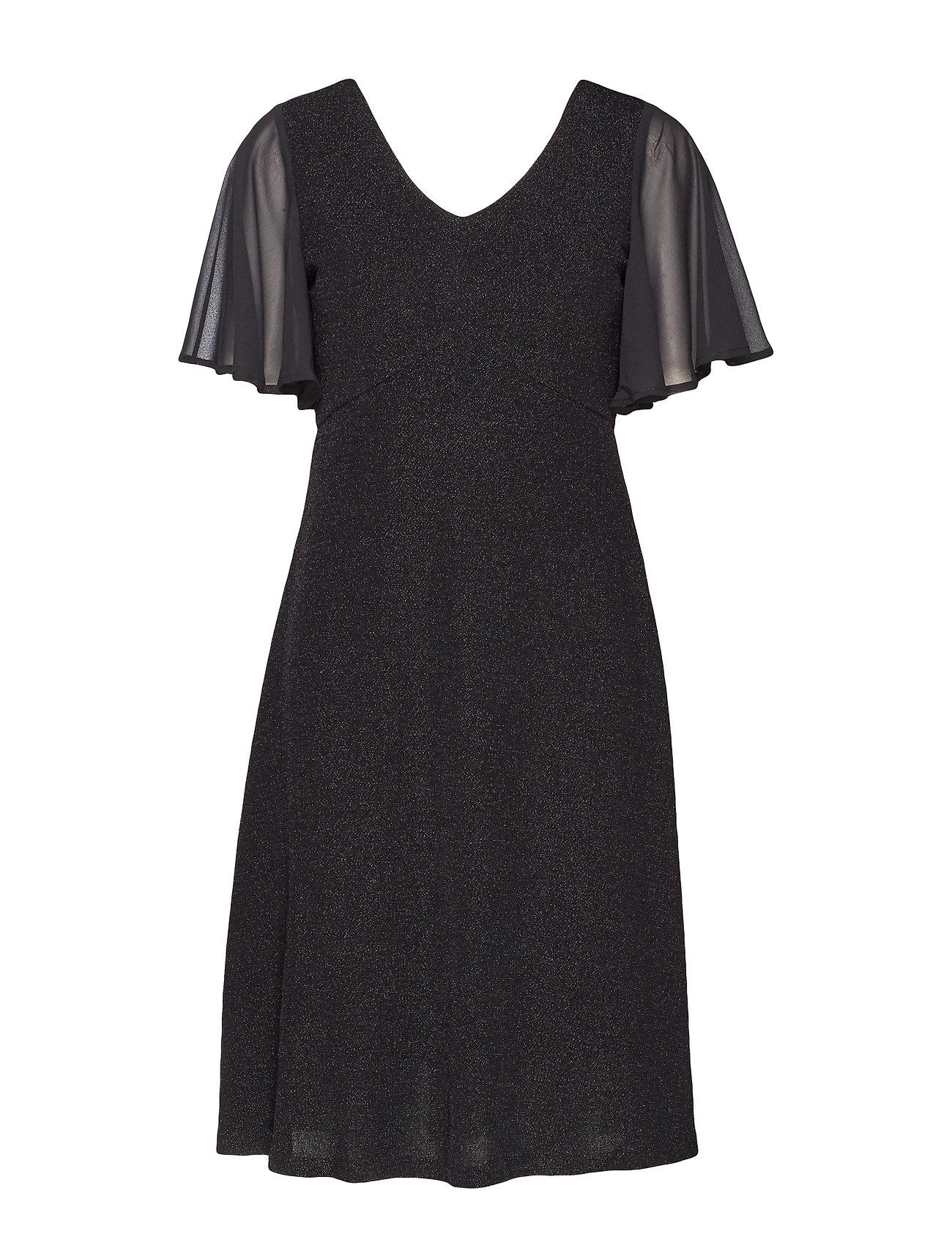 Cream MinuCR Short Dress - PITCH BLACK