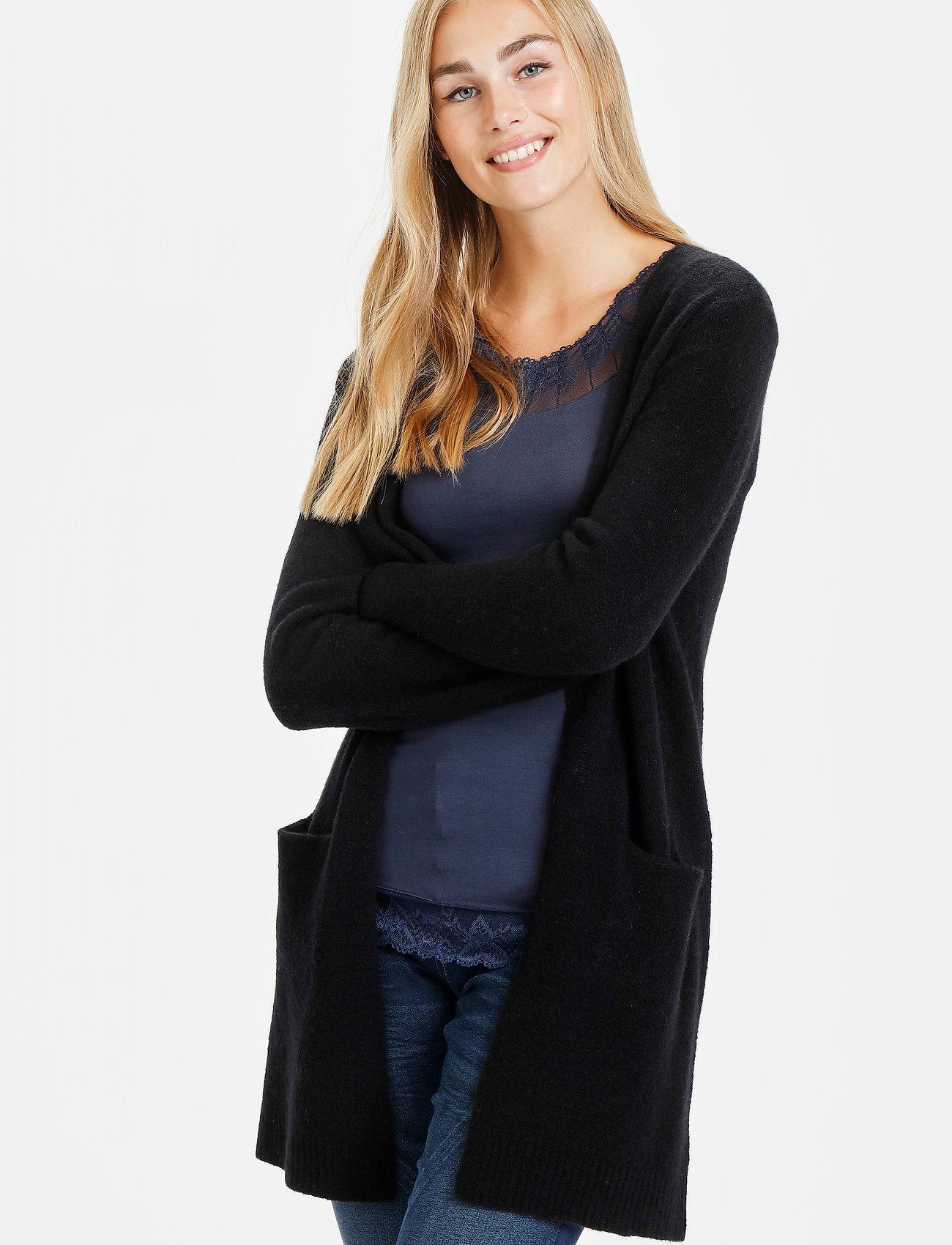 Cream - KaitlynCR New Cardigan - swetry rozpinane - pitch black - 0