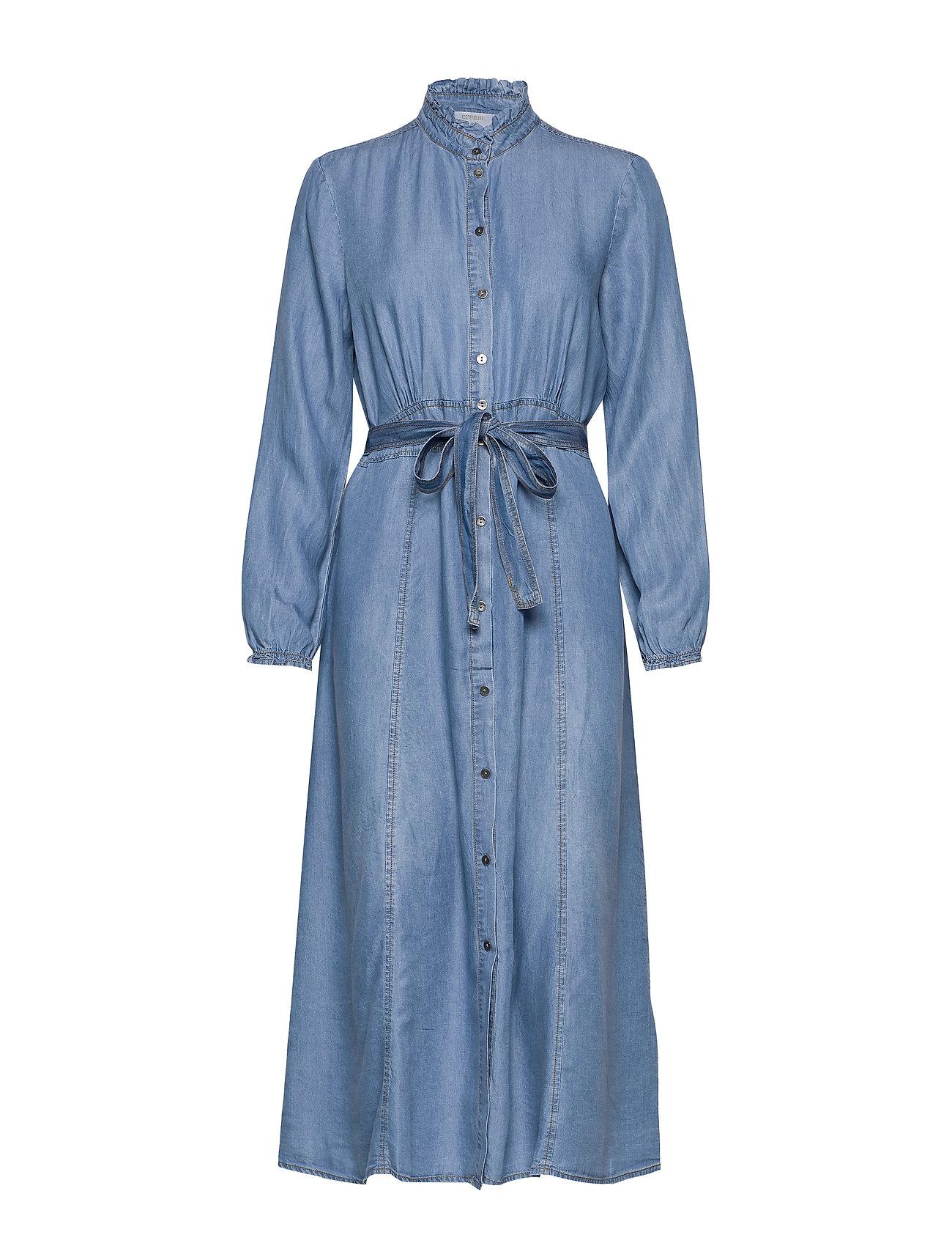 Cream VincaCr dress - BLUE DENIM