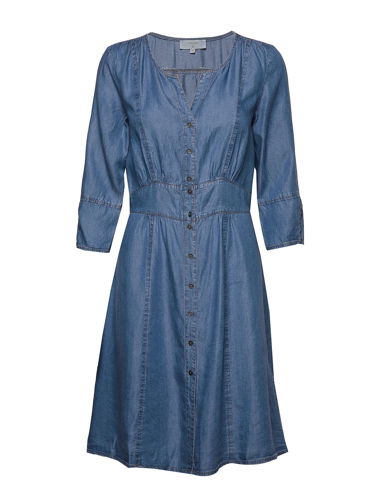 Cream BaliceCr denim dress - BLUE DENIM