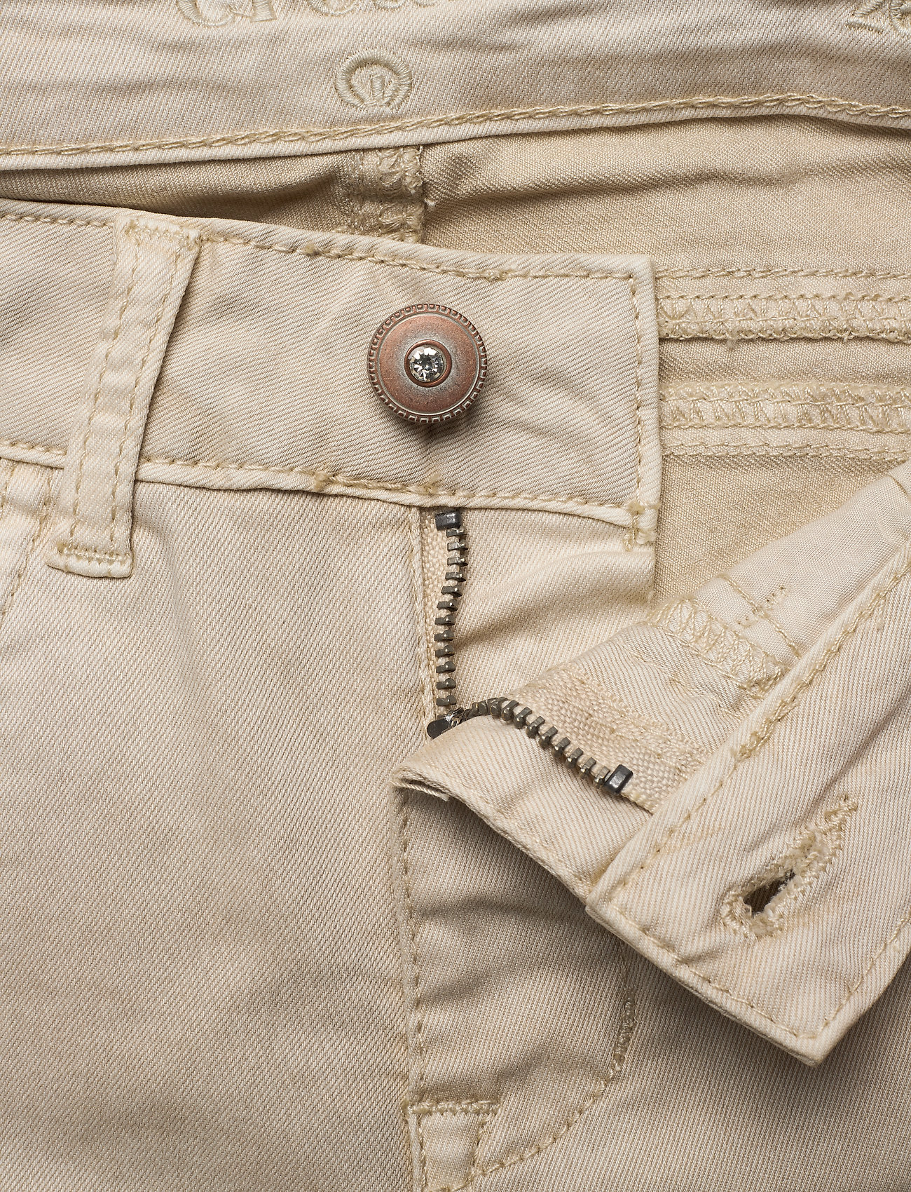 Cream - LotteCR Plain Twill - Coco Fit - skinny jeans - birch - 3