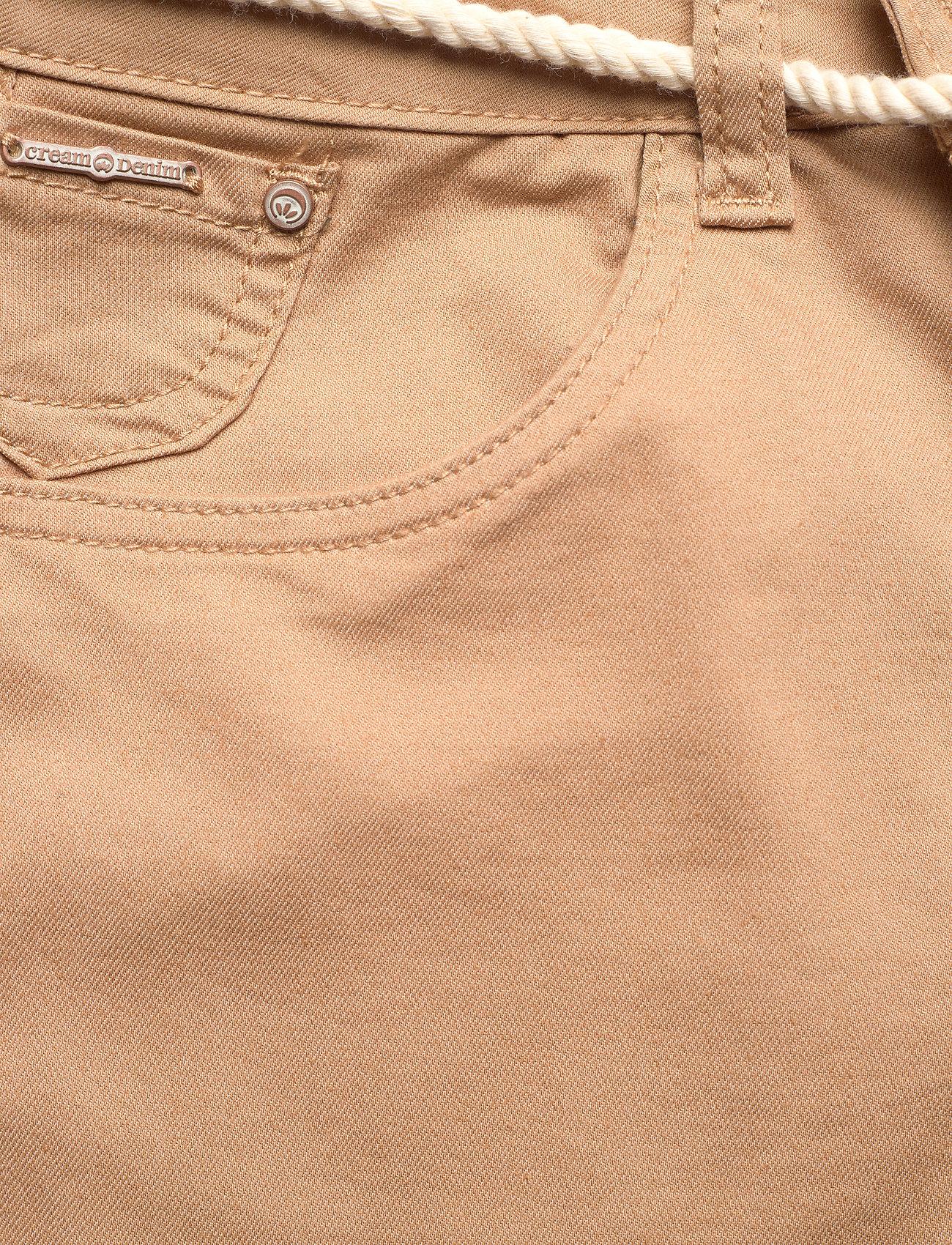 Cream - CRVava Pant 3/4 - Coco Fit - straight regular - tannin - 2
