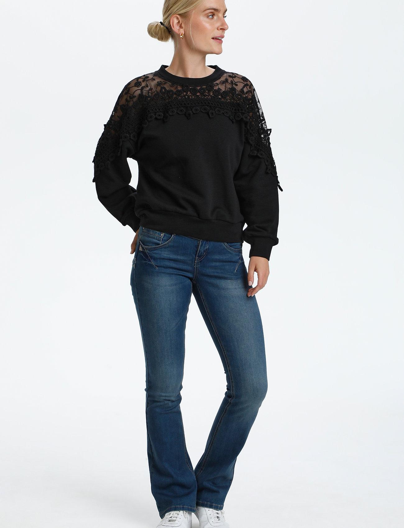 Cream - CRKalanie Sweatshirt - trøjer - pitch black - 3