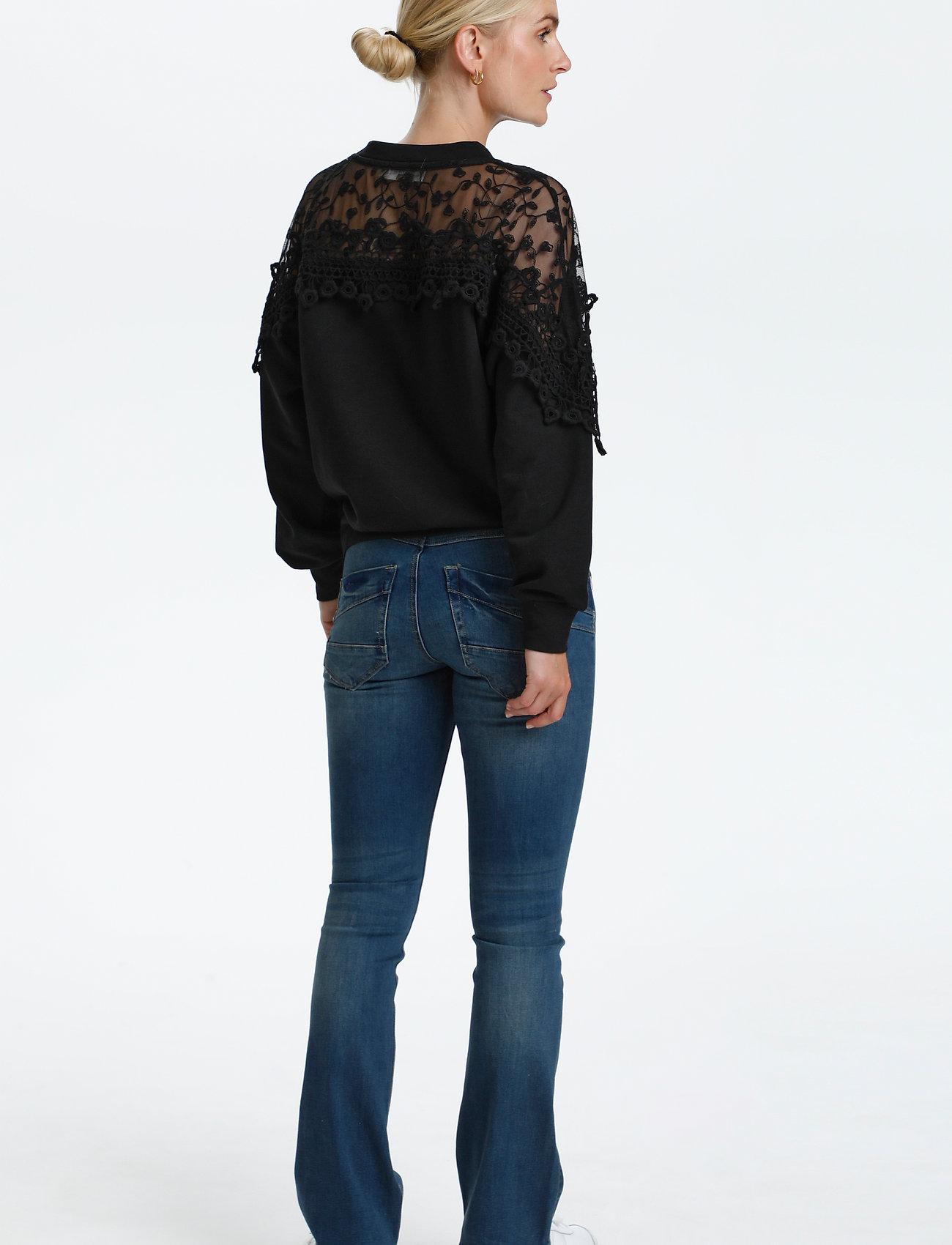 Cream - CRKalanie Sweatshirt - trøjer - pitch black - 4