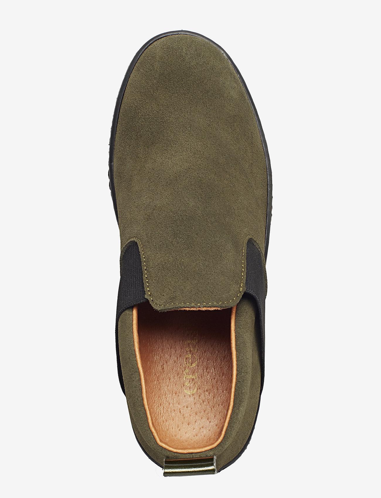 Cream Dana Sneakers - Khaki Palm