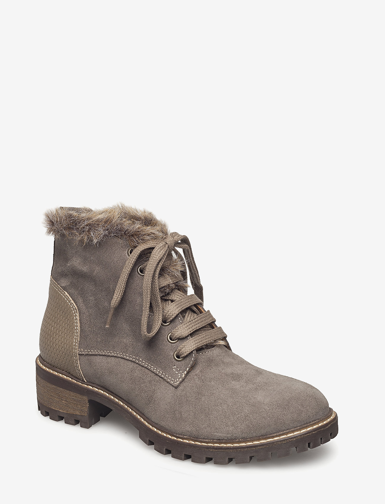 Cream - Maude boot - flat ankle boots - iron