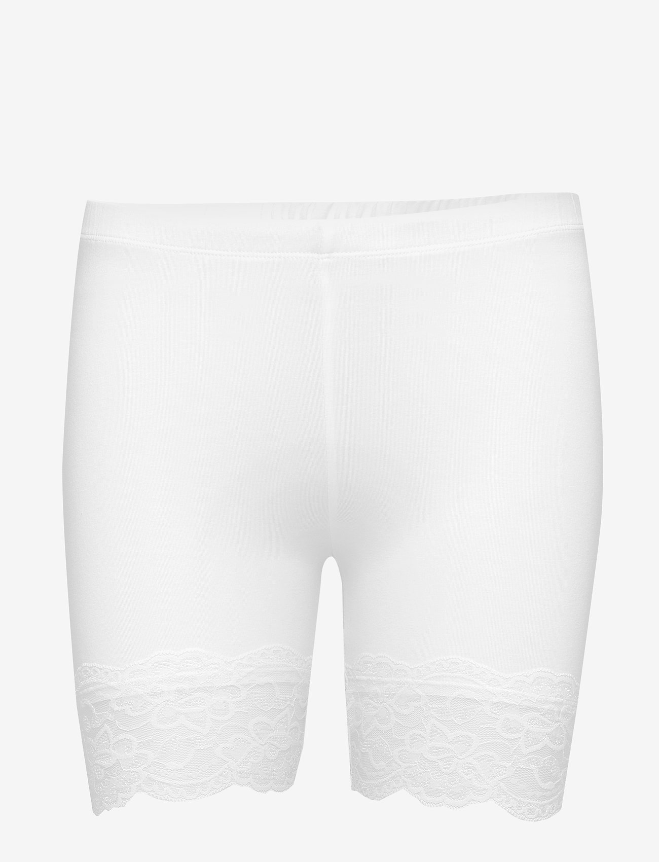 Cream - Matilda Biker Shorts - bottoms - optical white - 0