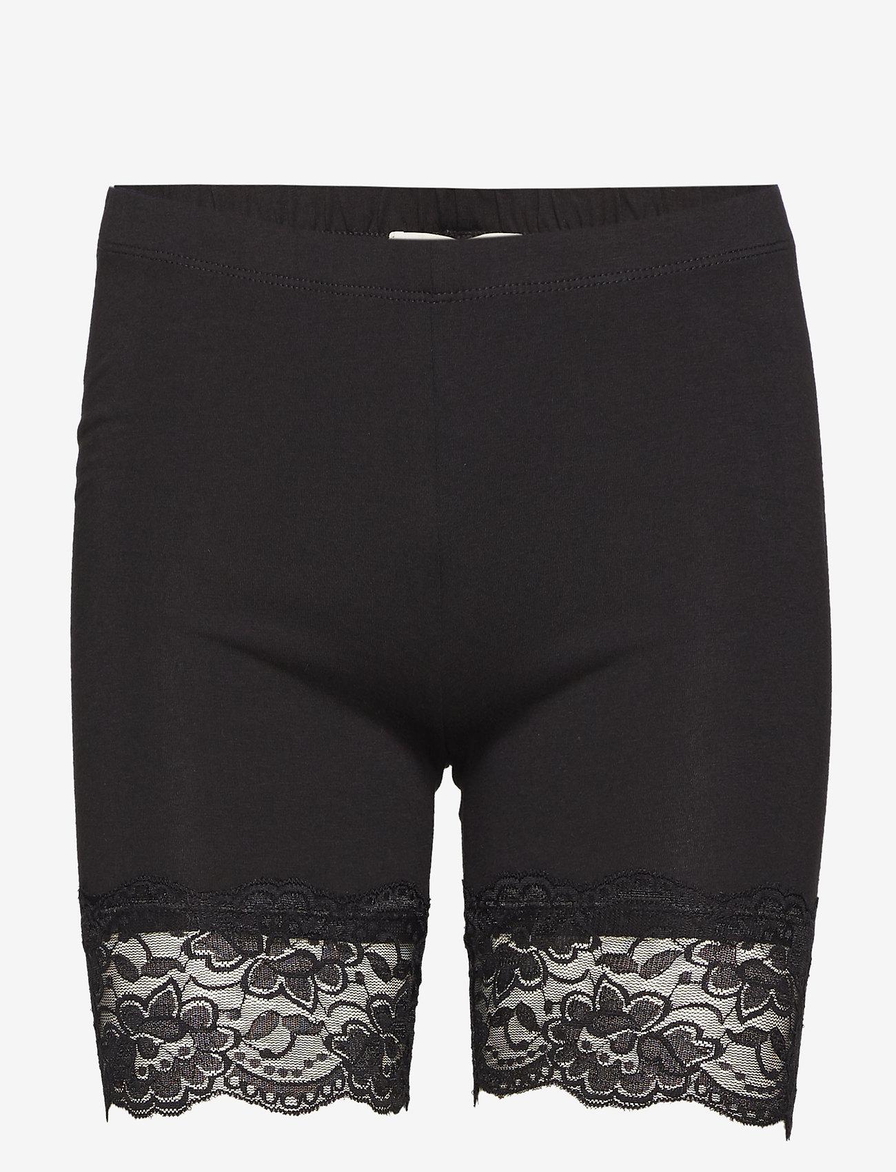 Cream - Matilda Biker Shorts - bottoms - pitch black - 1