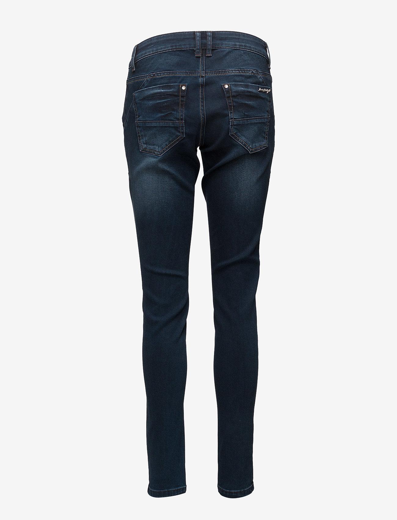 Cream - Baiily Power Stretch Jeans - džinsa bikses ar šaurām starām - dark blue denim - 1