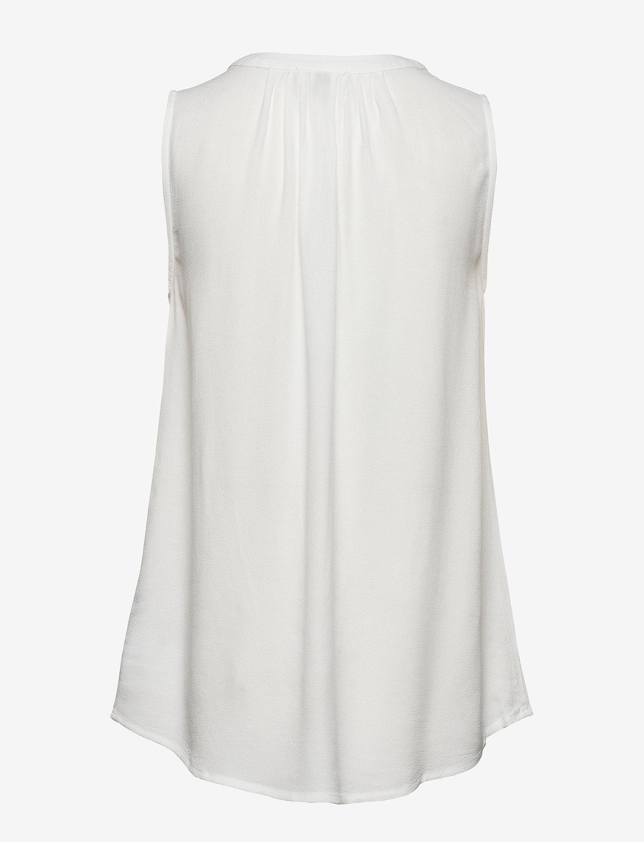 Cream - Vera blouse - Ærmeløse bluser - chalk - 1