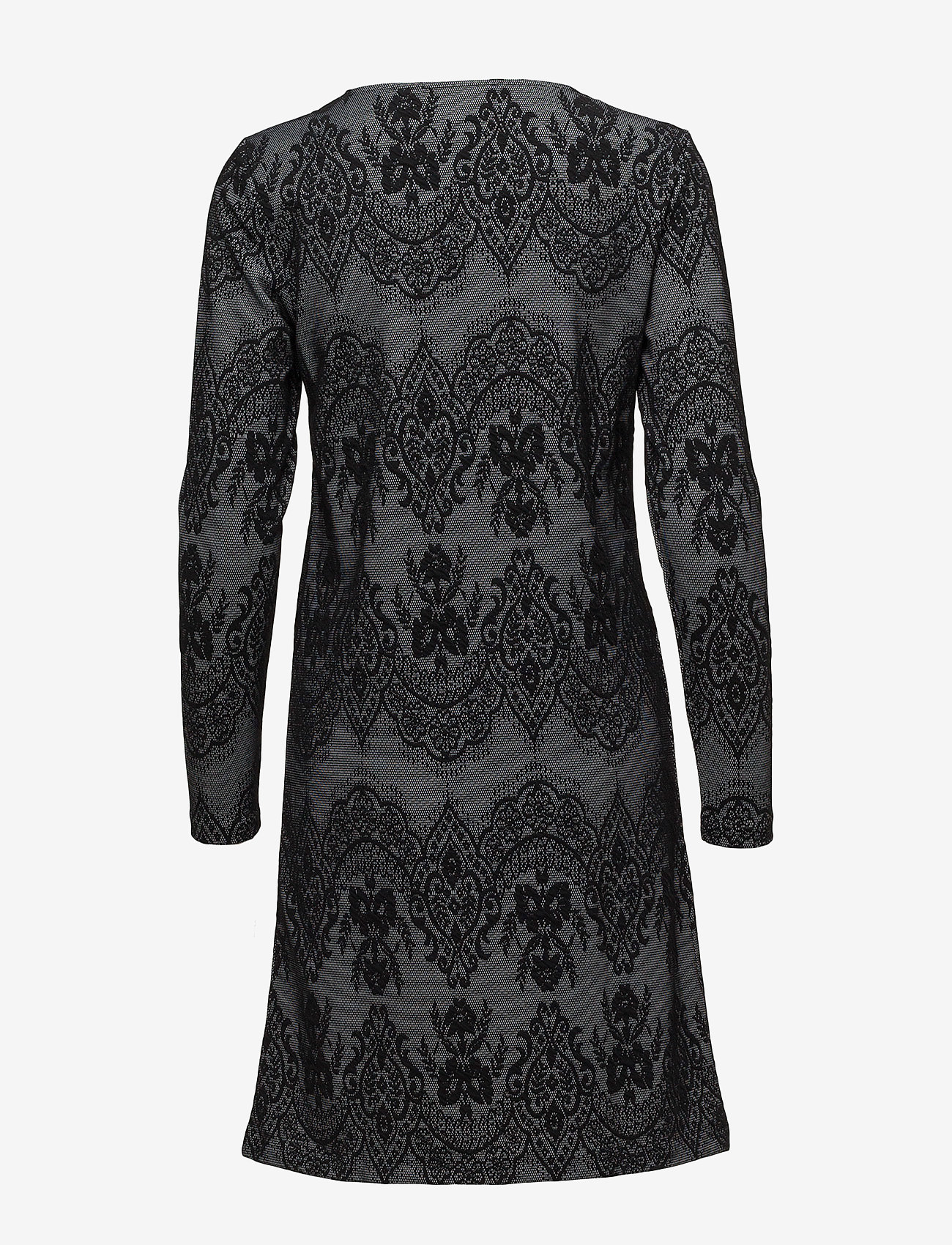 Cream - Linea dress - midi dresses - pitch black