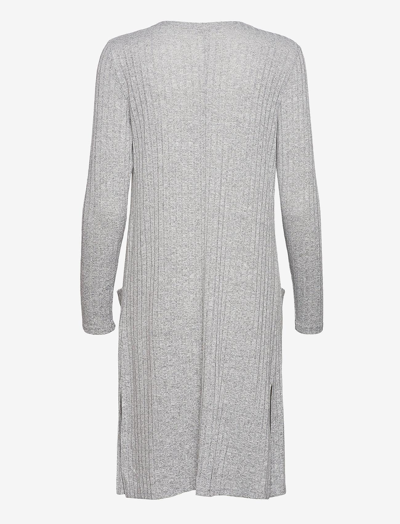 Cream - Mandy Cardigan - swetry rozpinane - light grey melange - 1