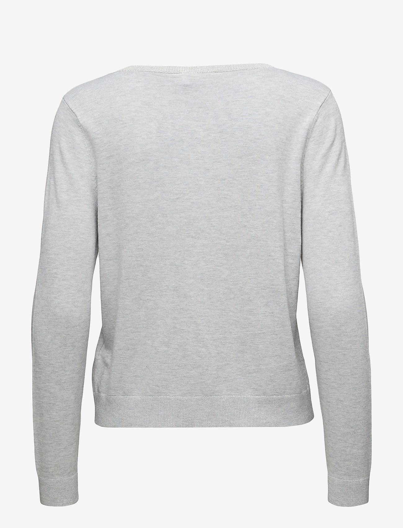 Cream - Tammy Cardigan - swetry rozpinane - light grey melange - 1