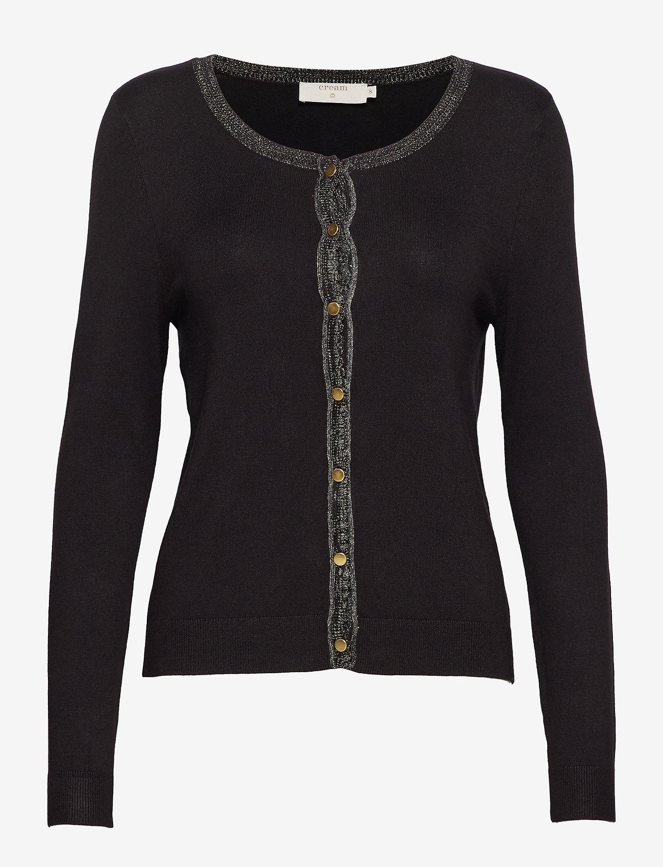 Cream - Tammy Cardigan - swetry rozpinane - pitch black - 0
