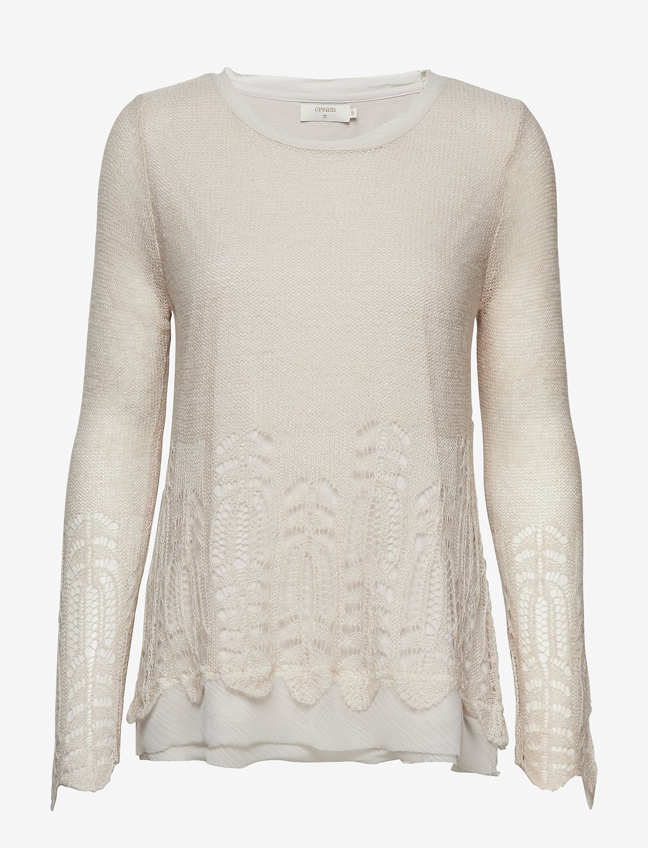 Cream - Deana Pullover - jumpers - silver gray