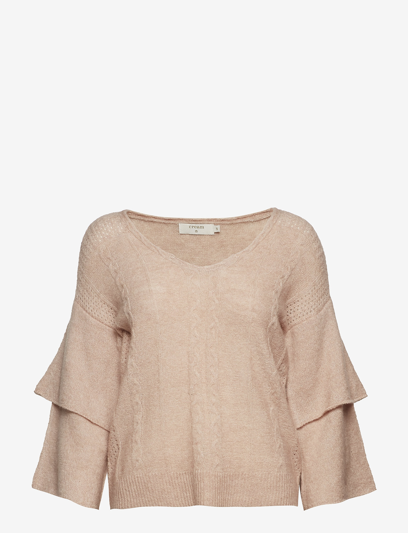 Cream - Penelope Knit pullover - jumpers - rose dust