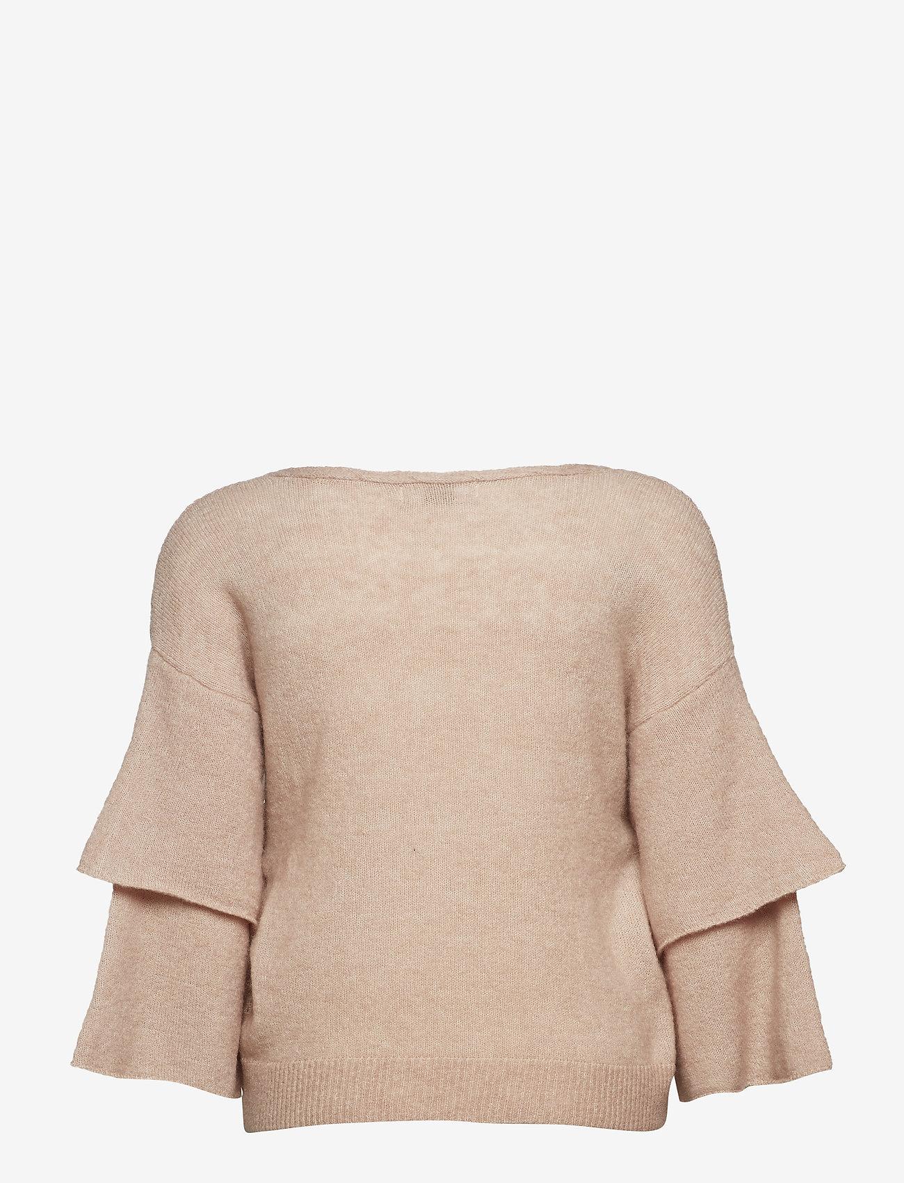 Cream Penelope Knit Pullover - Knitwear