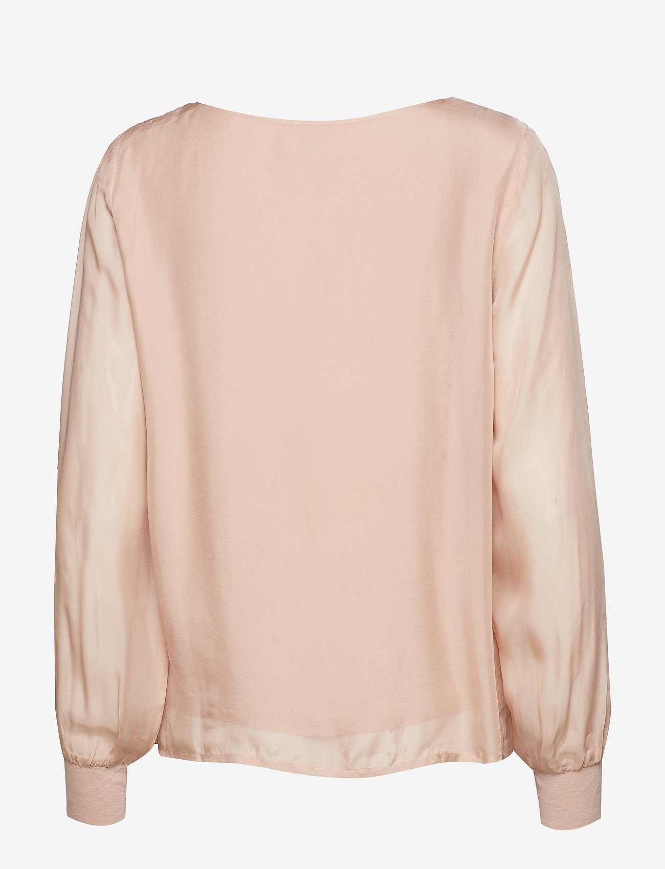 Cream - Jallaish blouse - long sleeved blouses - rose dust