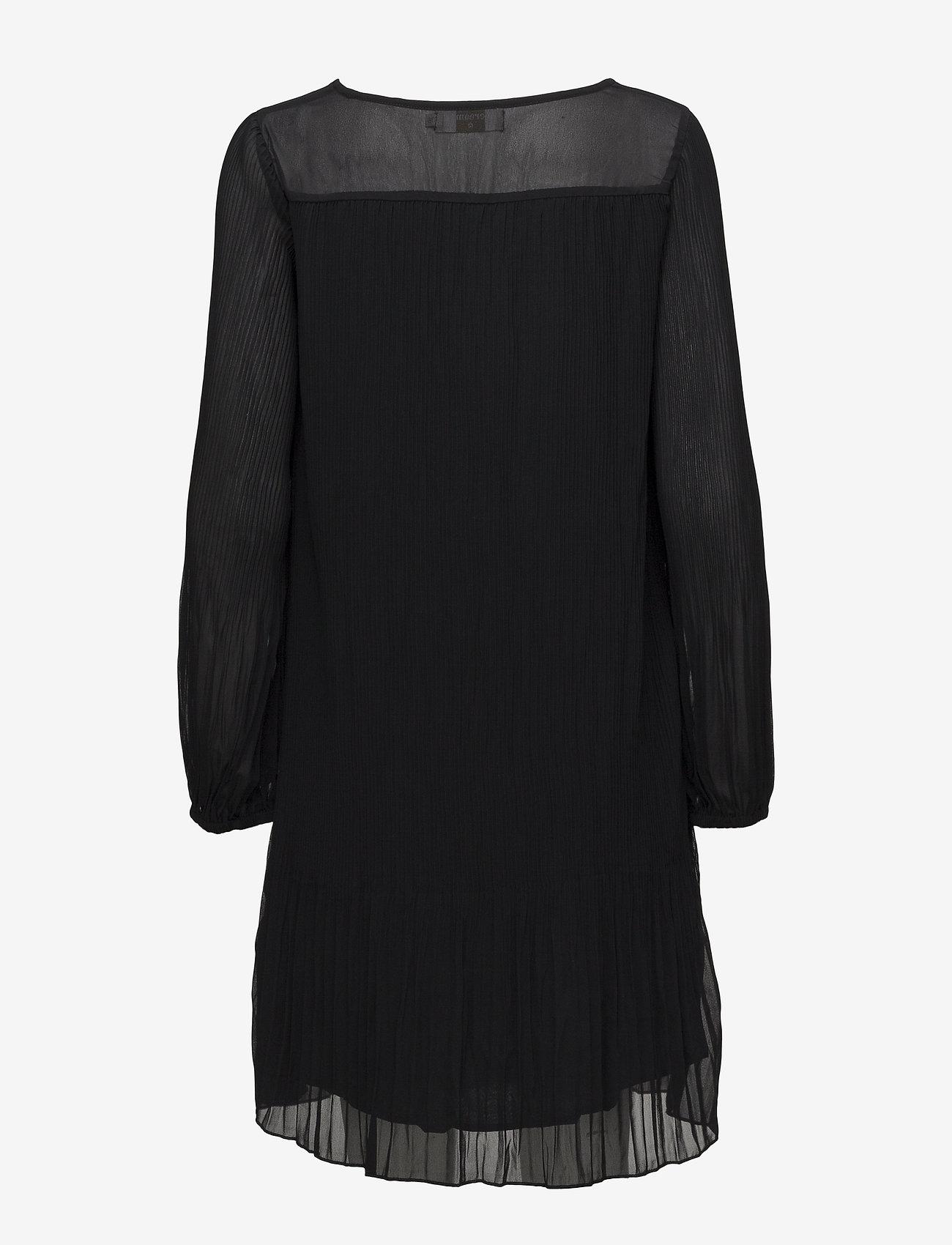 Cream - Tara Solid Dress - short dresses - pitch black