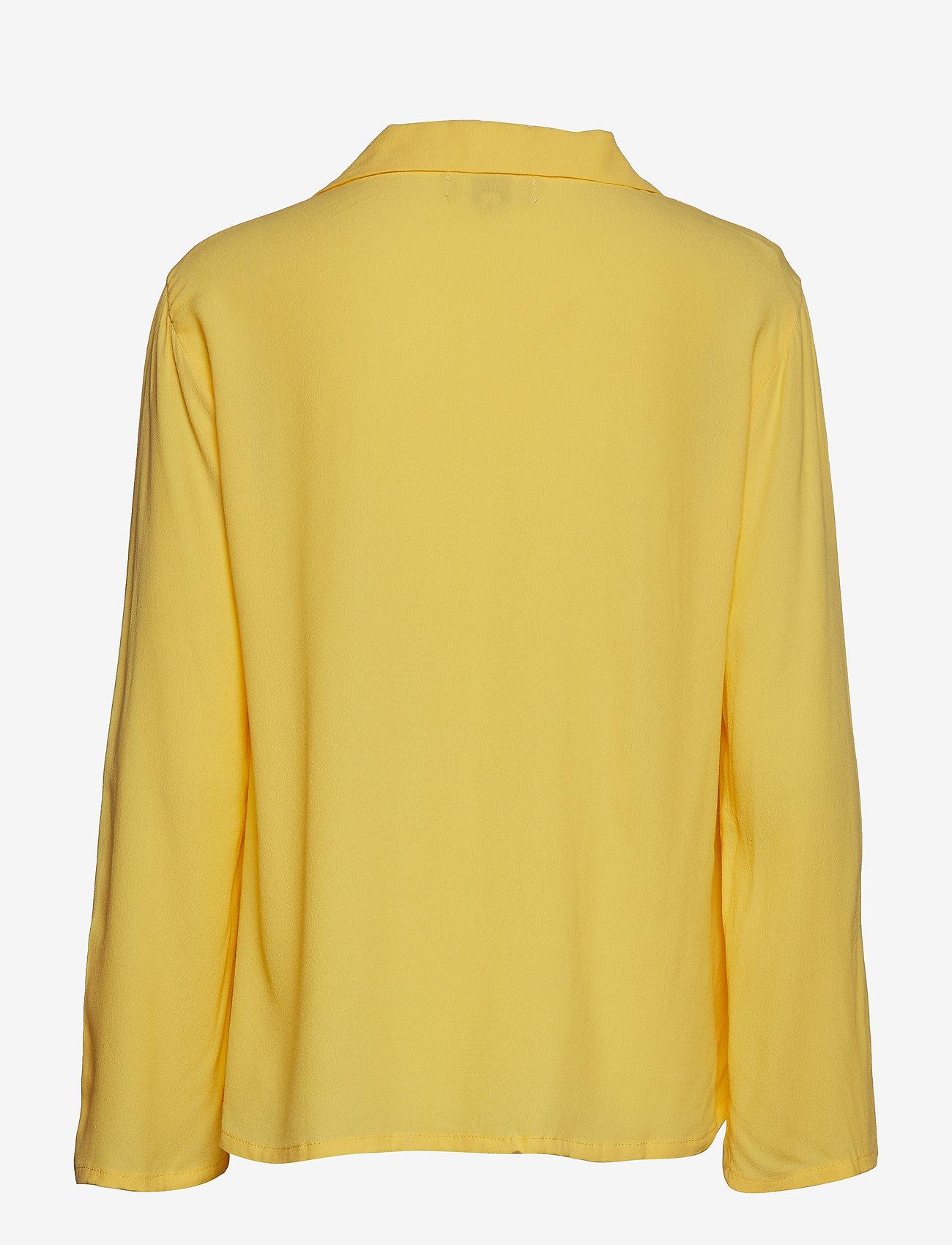 Cream - Agda Blouse - blouses à manches longues - cornsilk yellow