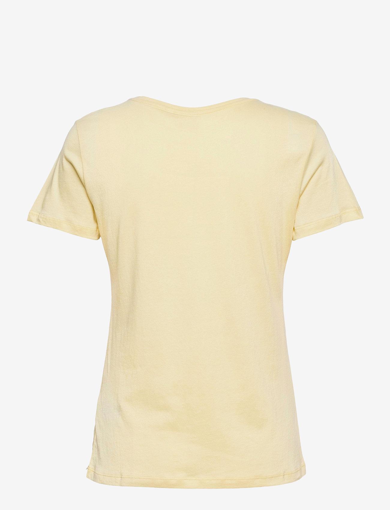 Cream - Naia T-shirt - t-shirts - yellow delight - 1