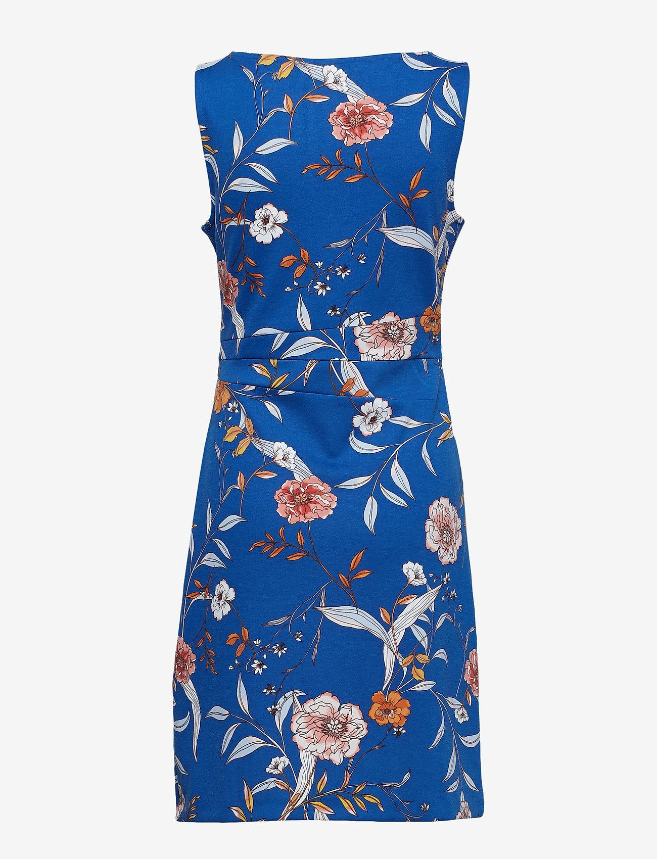 Cream - Lara Dress - short dresses - limoges blue