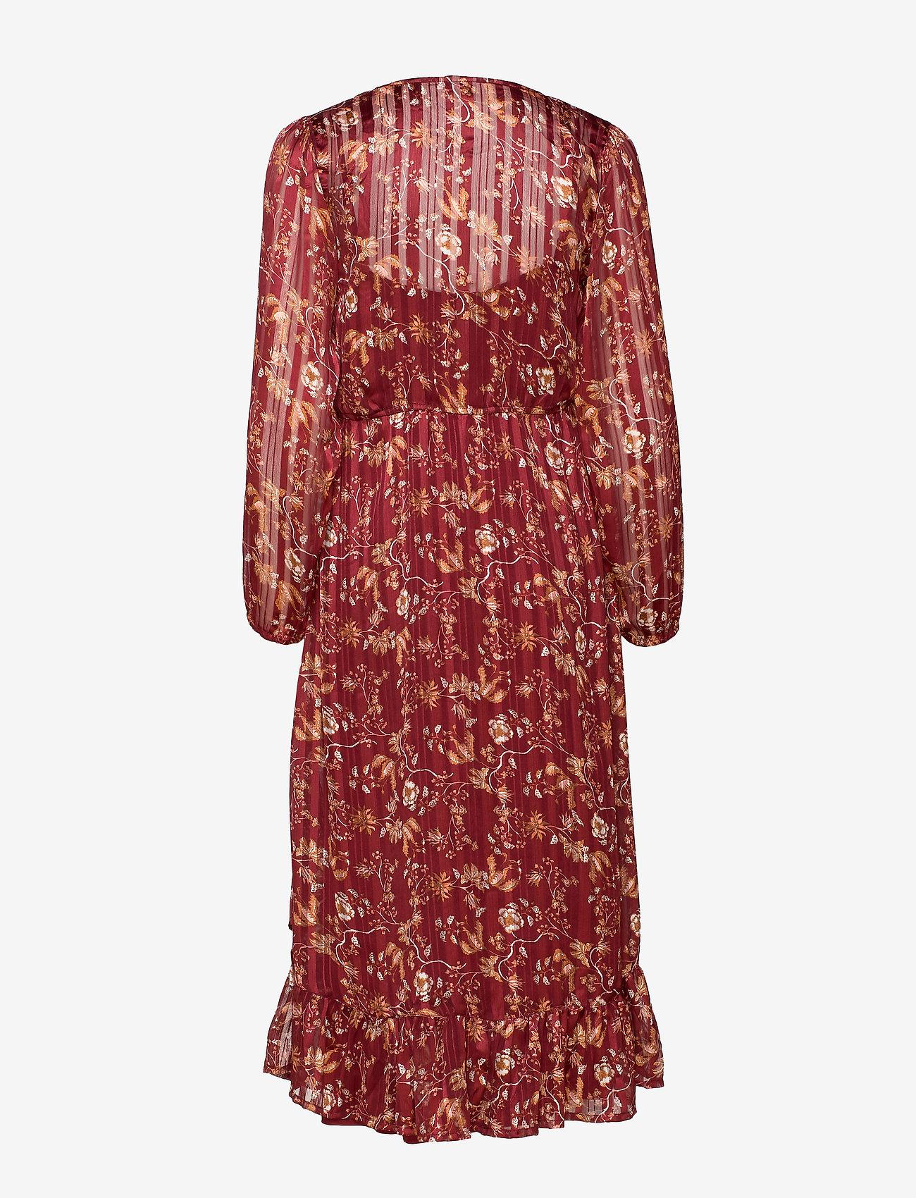 Nila Wrap Dress (Merlot Red) (49.98 €) - Cream tUApG