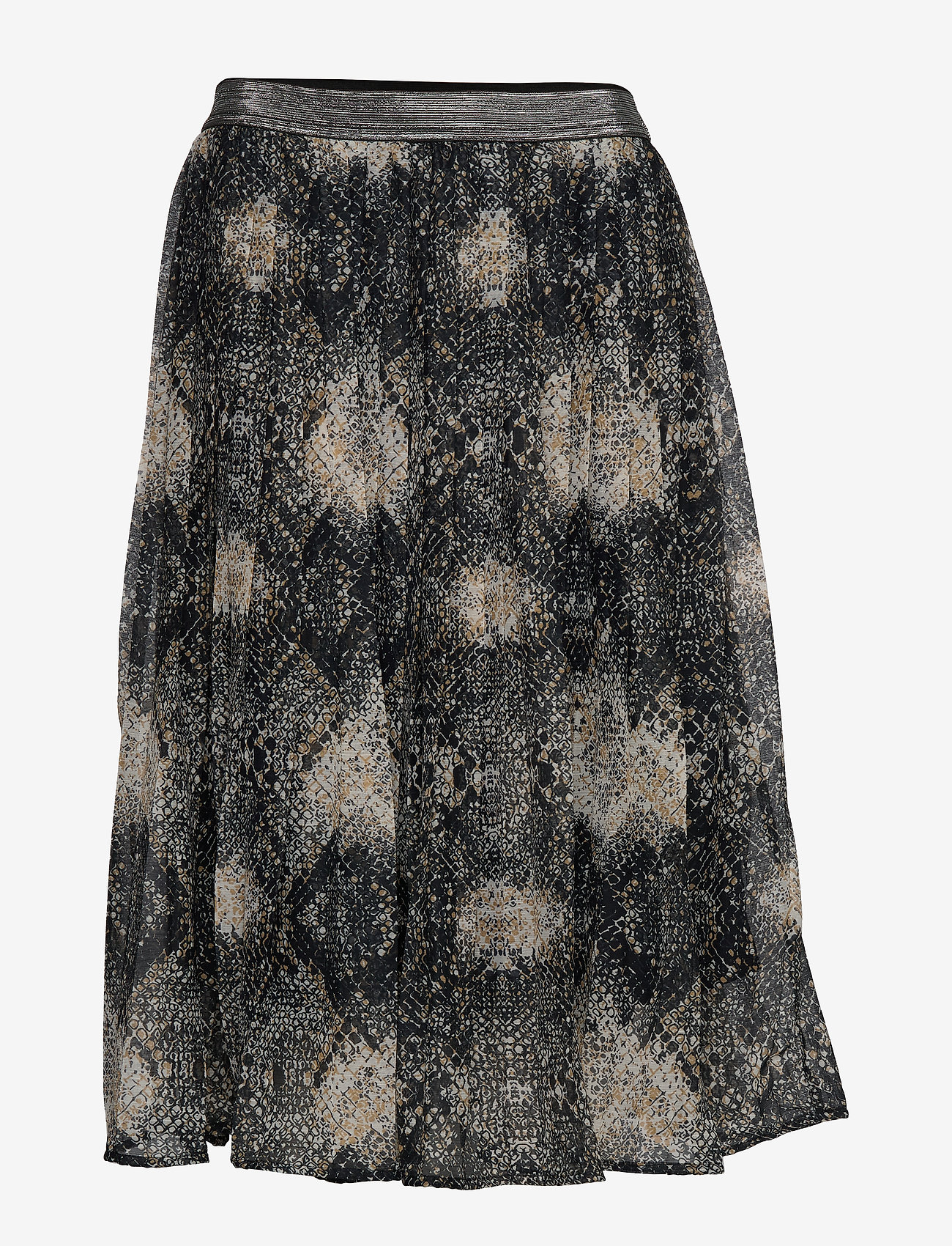 Cream - Shaky skirt - midi - pitch black