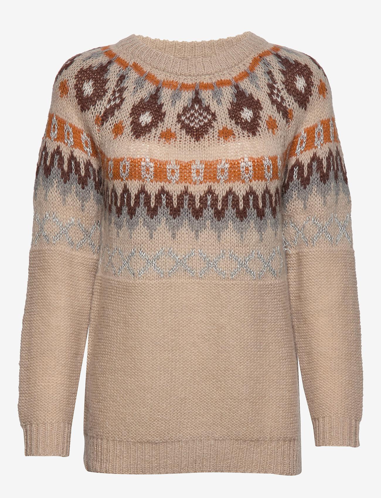 Cream - JackieCR Pullover - pulls - light beige
