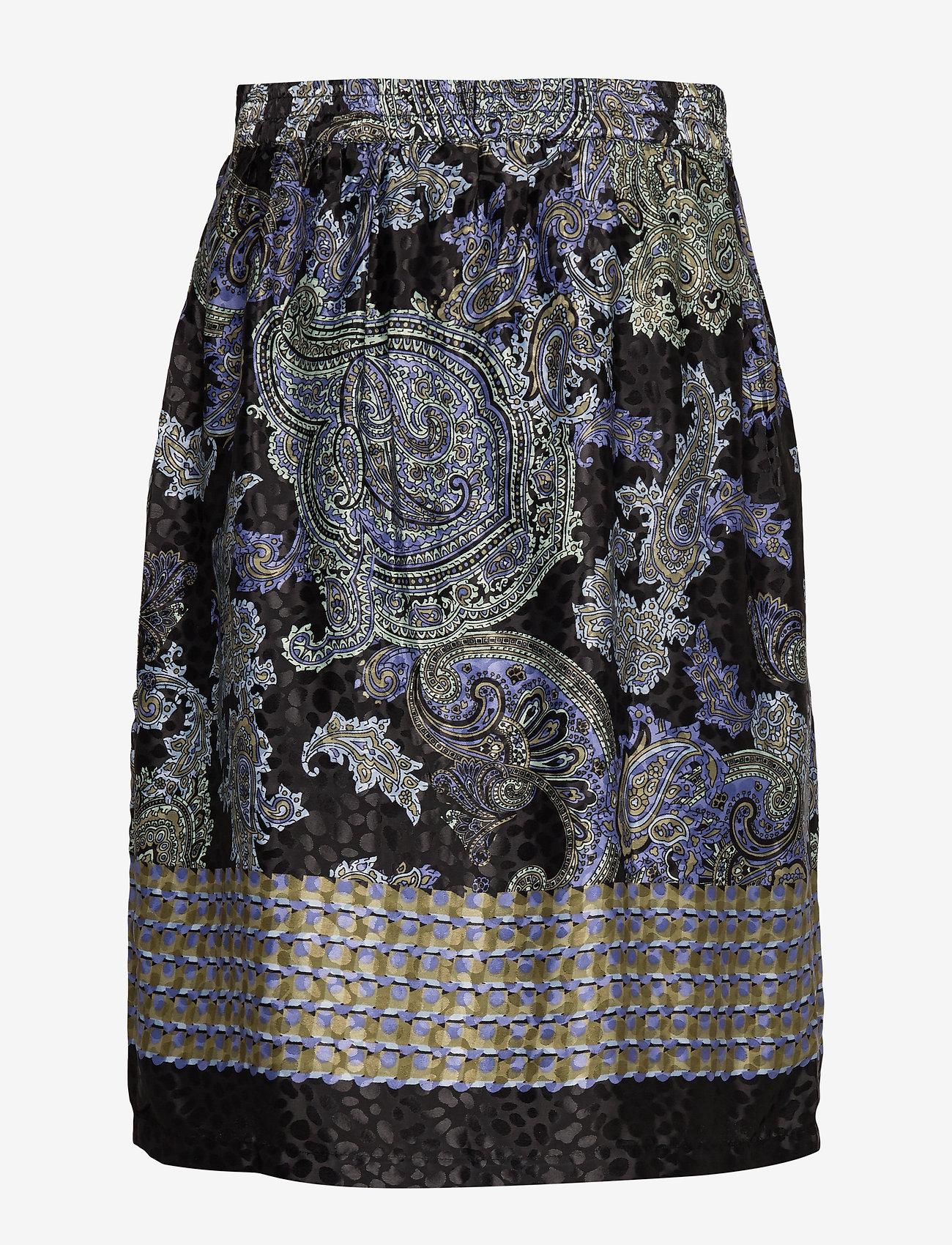 Cream - CarolynaCR Skirt - jupes midi - pitch black