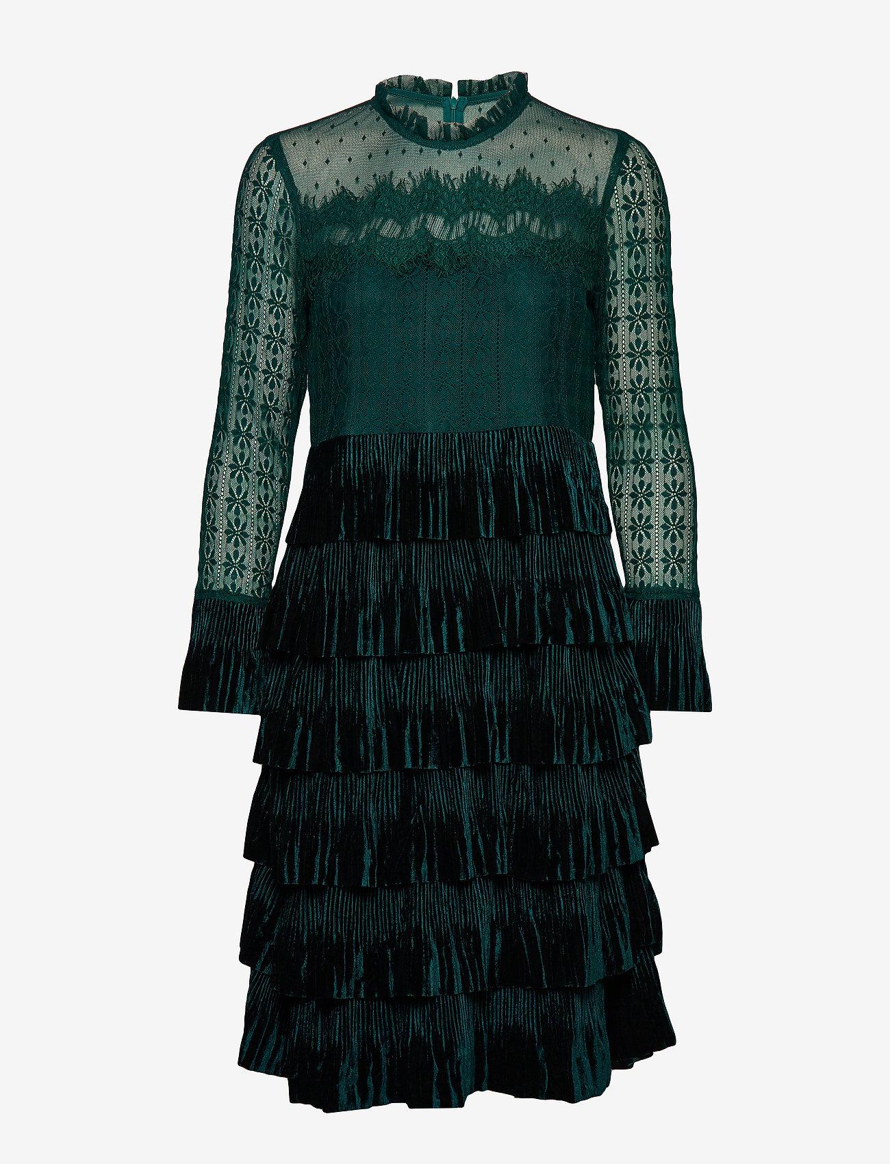 Cream - LizzyCR Dress - robes de fête - deep green