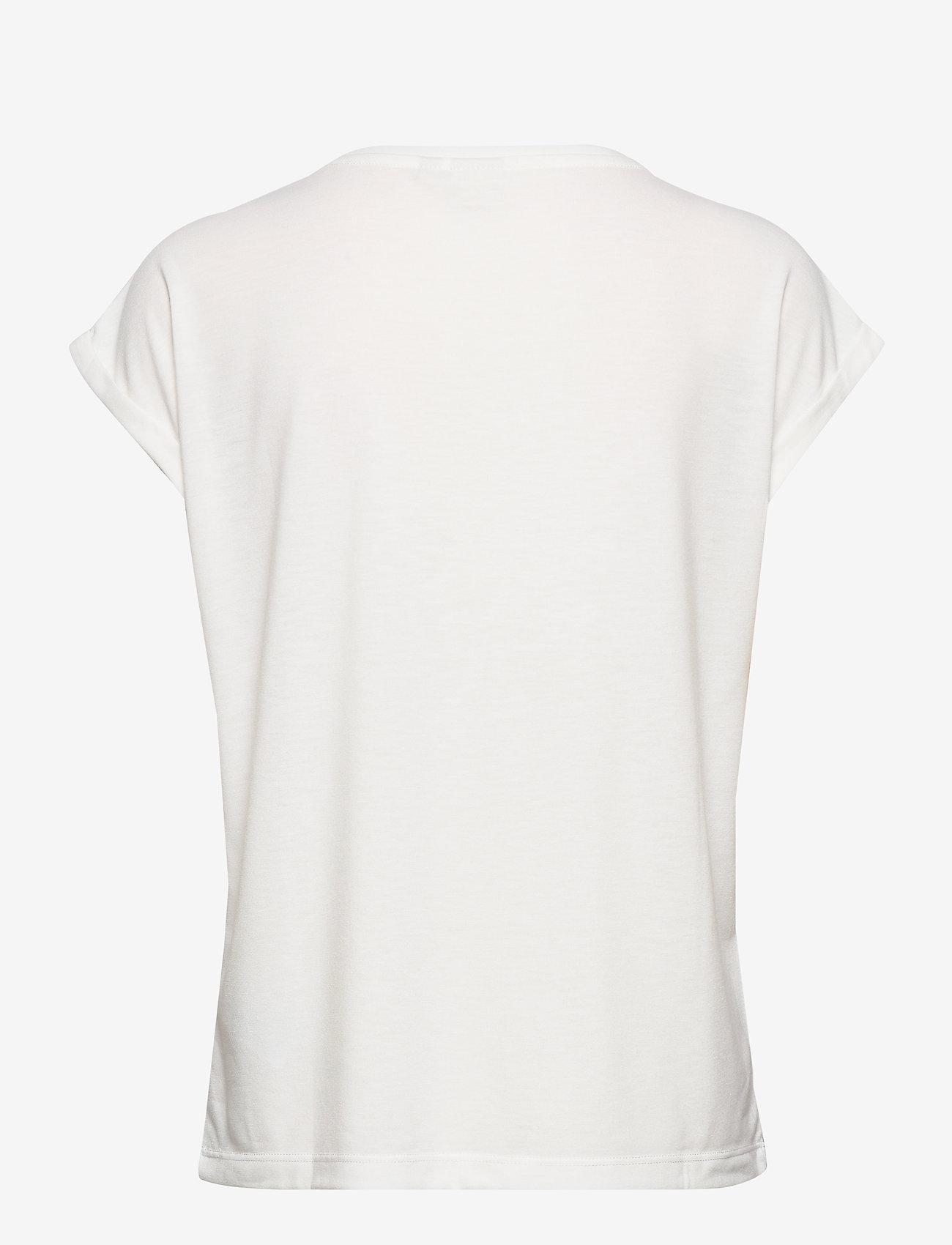 Natiancr T-shirt (Soft Green) - Cream bCCGCa