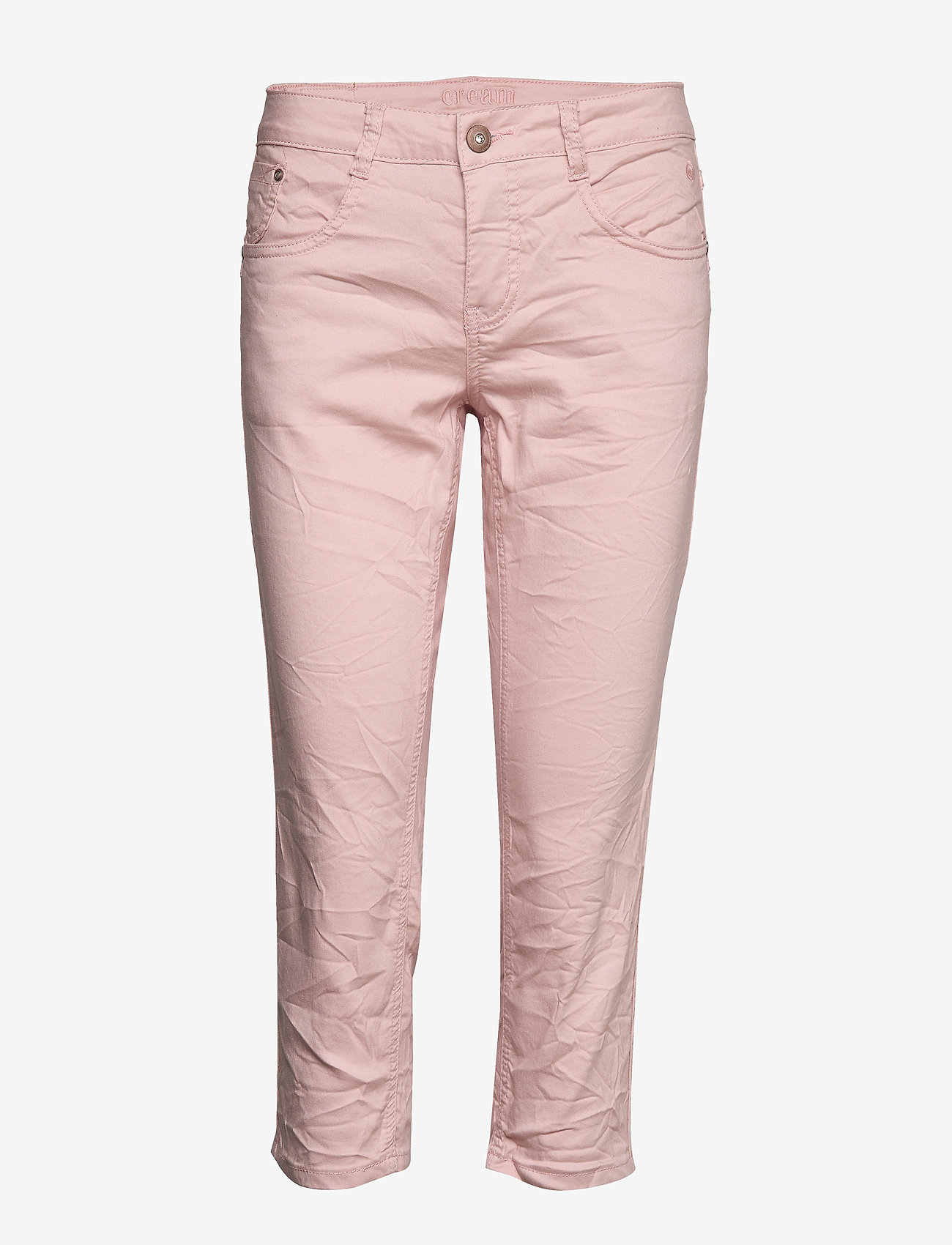 Cream - VavaCR 3/4 Pant coco fit - straight jeans - spring pink - 0